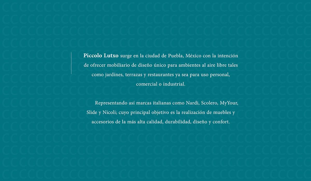 Naming Branding Piccolo Lutxo On Behance