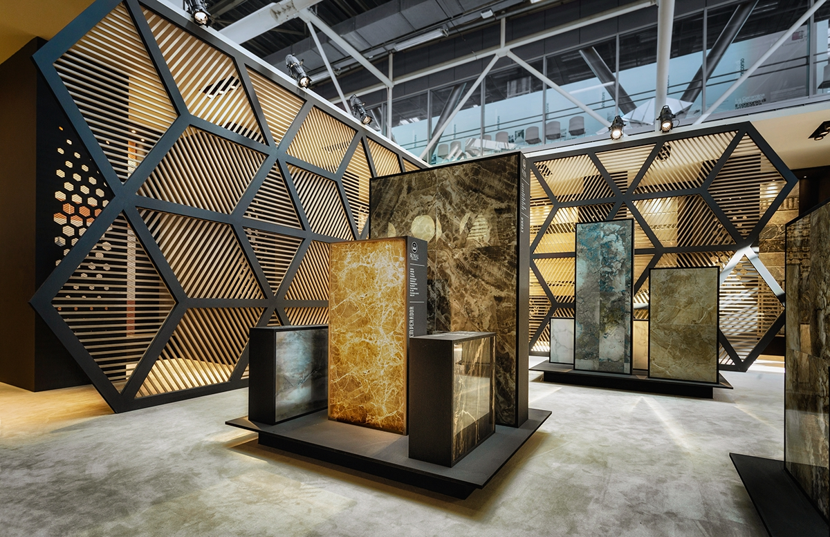 Exhibition Stand Design Behance : East meets west on behance