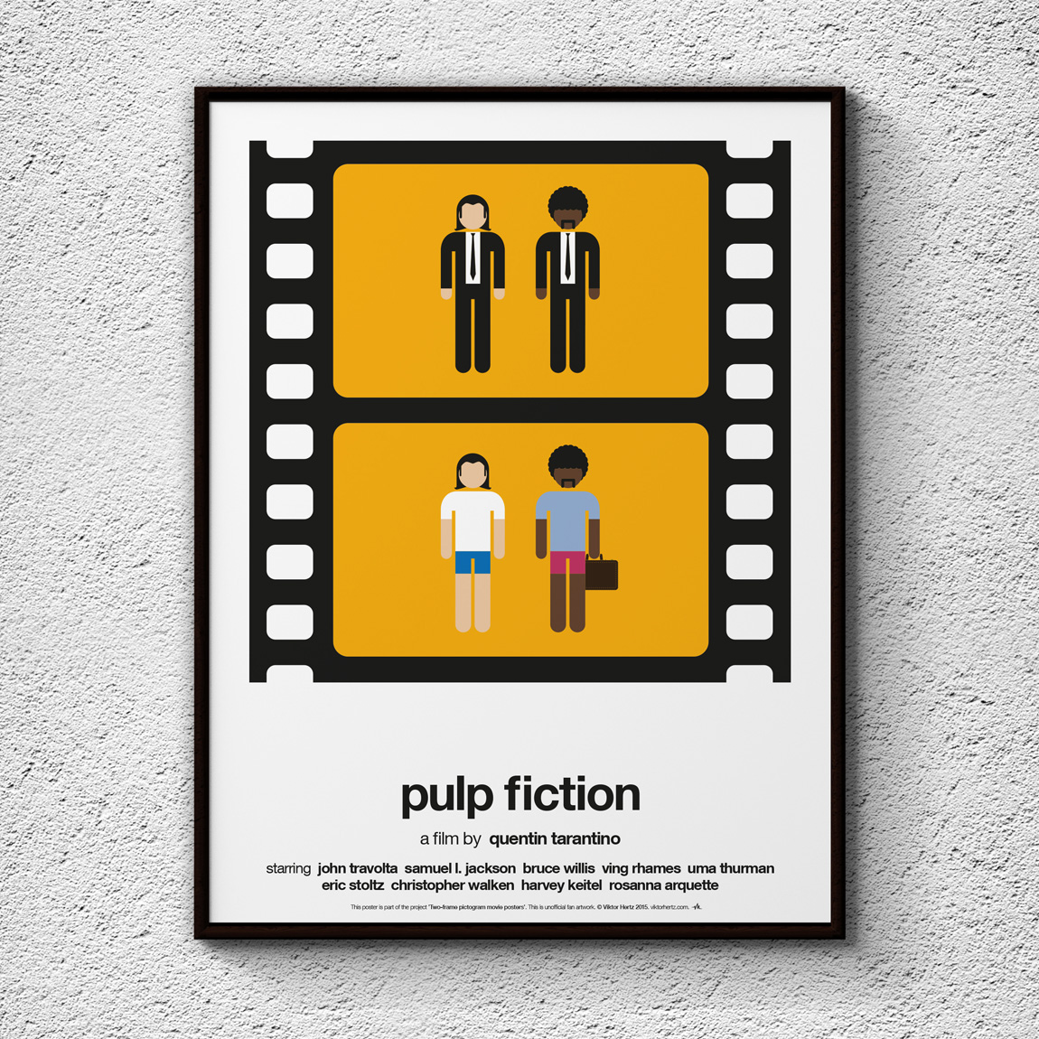 Two-frame Pictogram Movie Posters on Behance