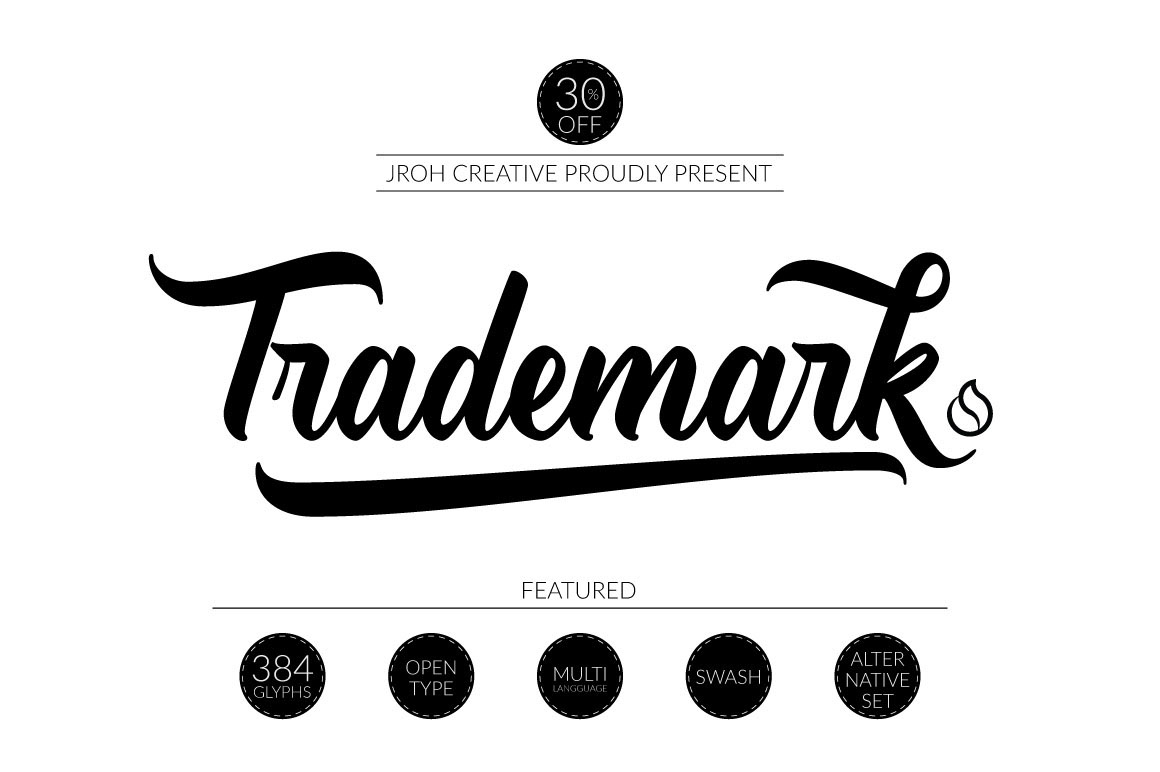 Trademark Script on Behance