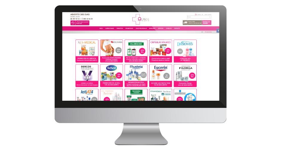 Diseño web desarrollo web tienda online diseño personalizado Ecommerce pharmacy farmacia