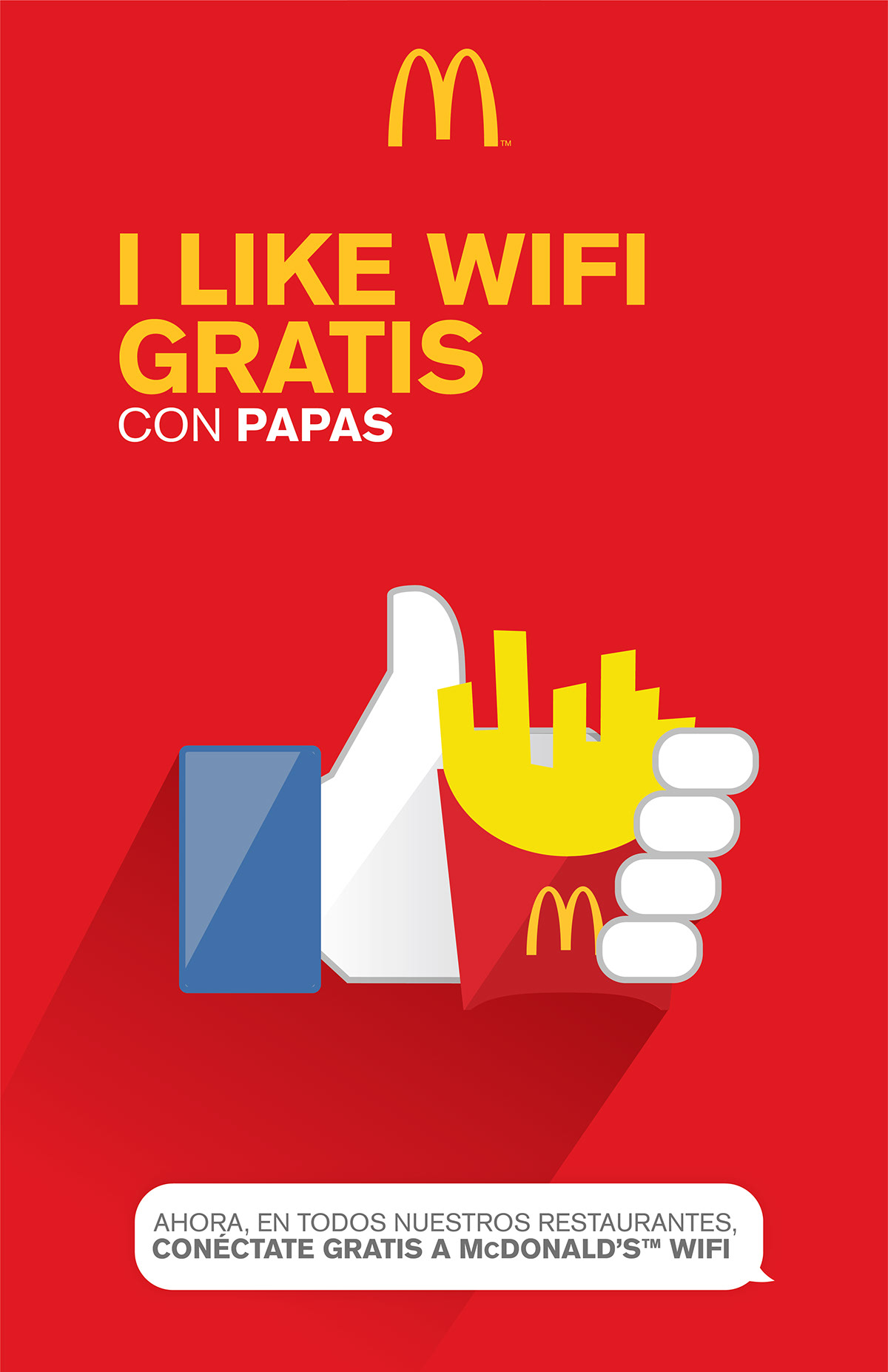 "picture about Mcdonalds Printable Job Application known as McDonaldsâ""¢ Wi-Fi Gratis Print Advert Marketing campaign upon Wacom Gallery"
