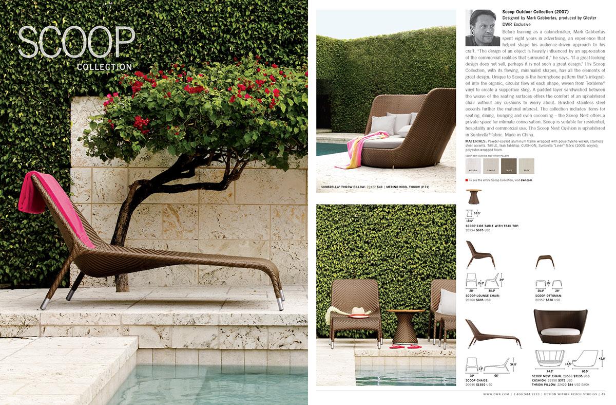 Design Within Reach pop poster magazine catalog Window Display ad campaign marketing