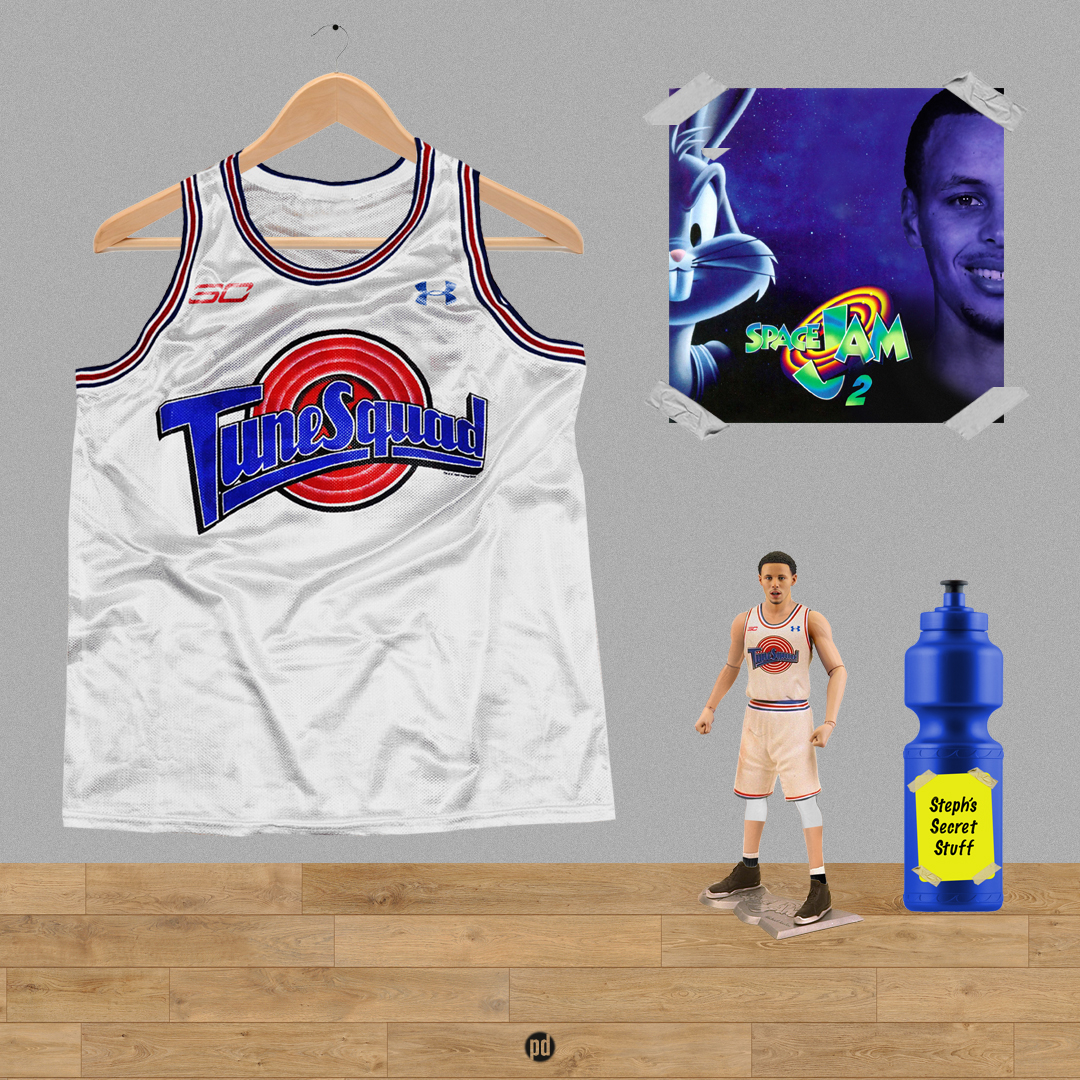 Space Jam 2 : Stephen Curry on Behance
