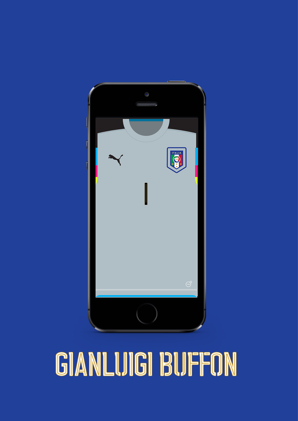 Euro 2016 italy jersey wallpaper on behance voltagebd Images