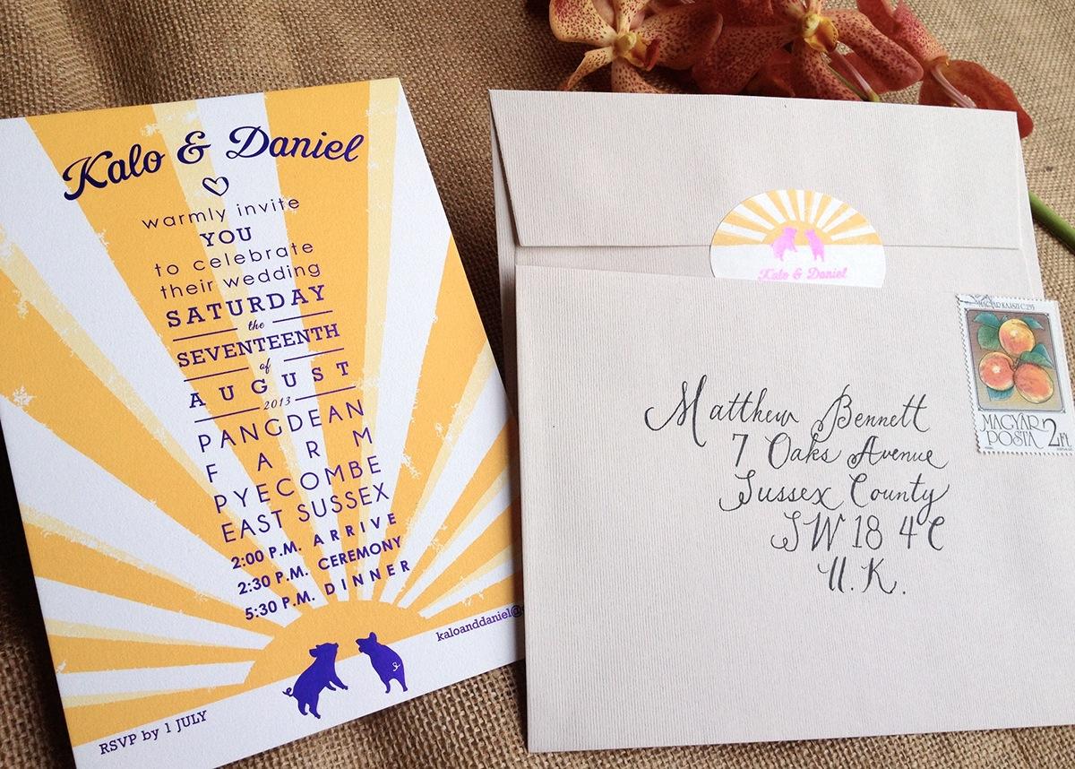 Calligraphy • Wedding on Behance