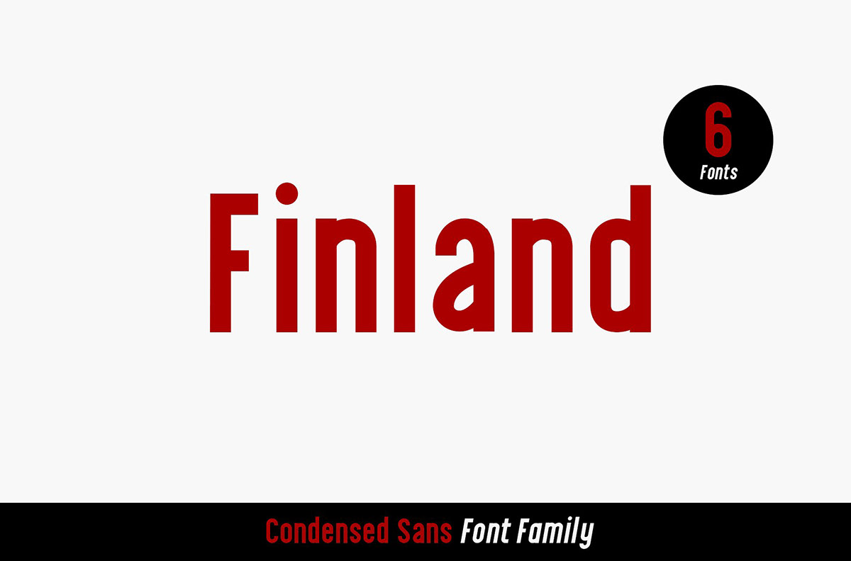 Finland - Font Family (Free Download) on Behance