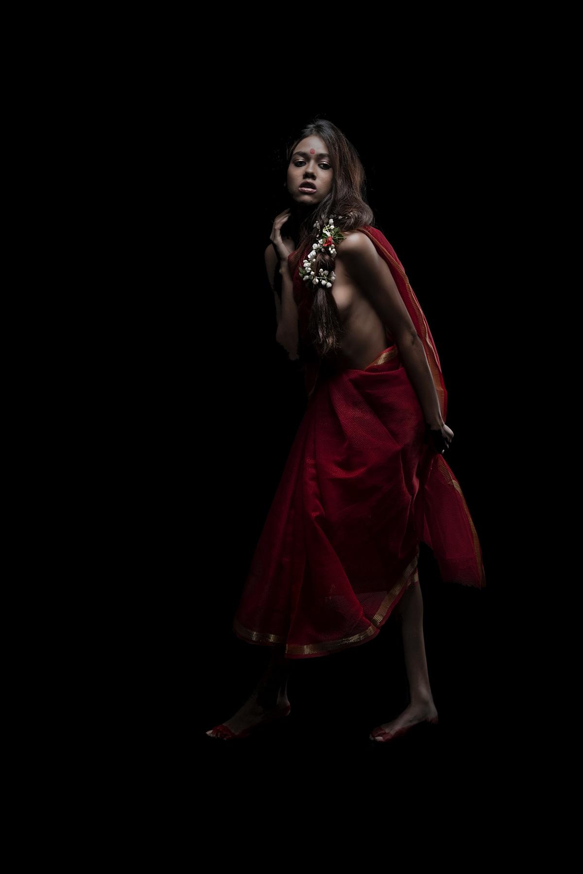 India beauty Female Model Sari tribal Ethnic bride bridal MUMBAI desire
