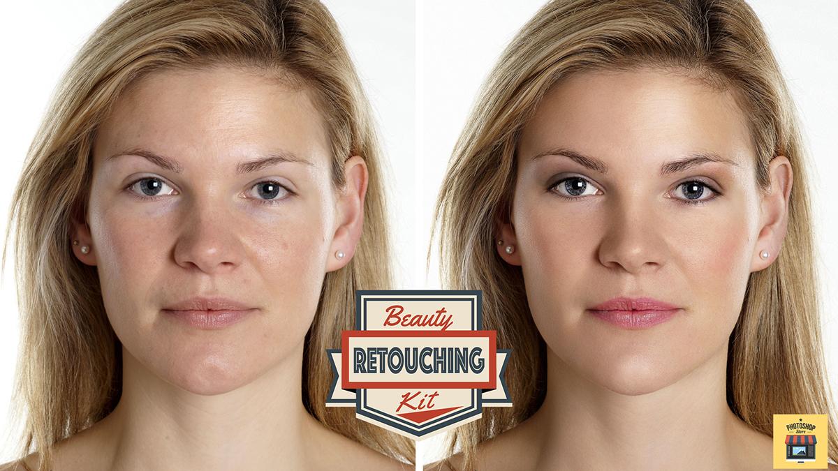 Beauty retouching kit v30 tutorial photoshop on behance beauty retouching kit v30 tutorial skin retouching via photoshop baditri Image collections