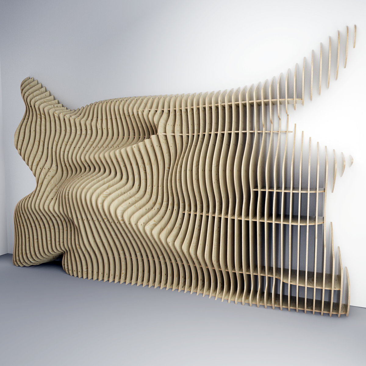 Parametric Wall On Behance