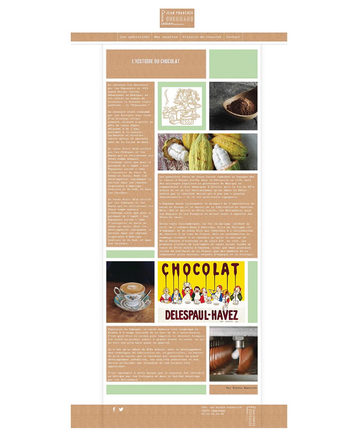 chocolate Kraft cacao graphic design  visual identity