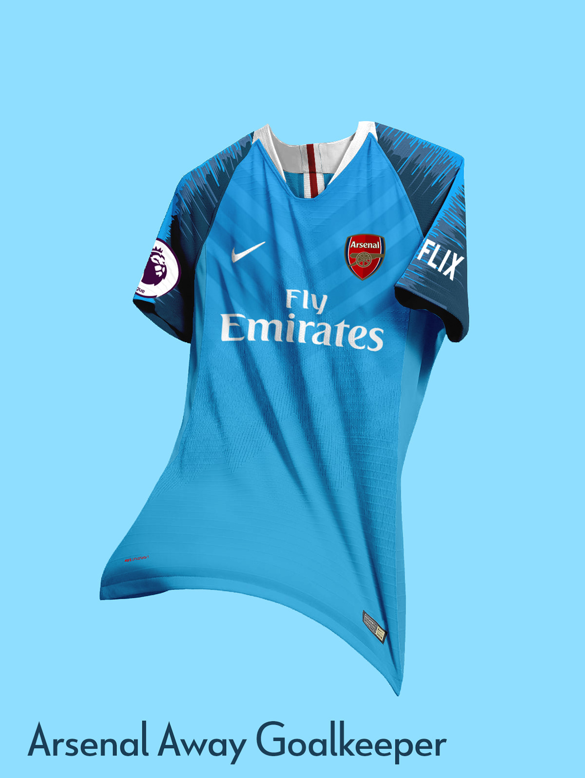 promo code d70c1 c0c55 Arsenal FC Nike Concept Kits | 2019-2020 on Behance