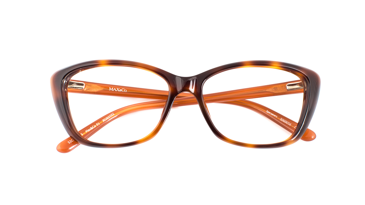 85c00e1dc086 ... it is perfect for giving high prescription lenses a subtle appearance.  The classic black temples feature a refined silver logo print that  complements ...