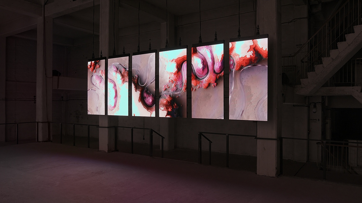anthropocene art generative art installation Media Art new media art onformative visual design