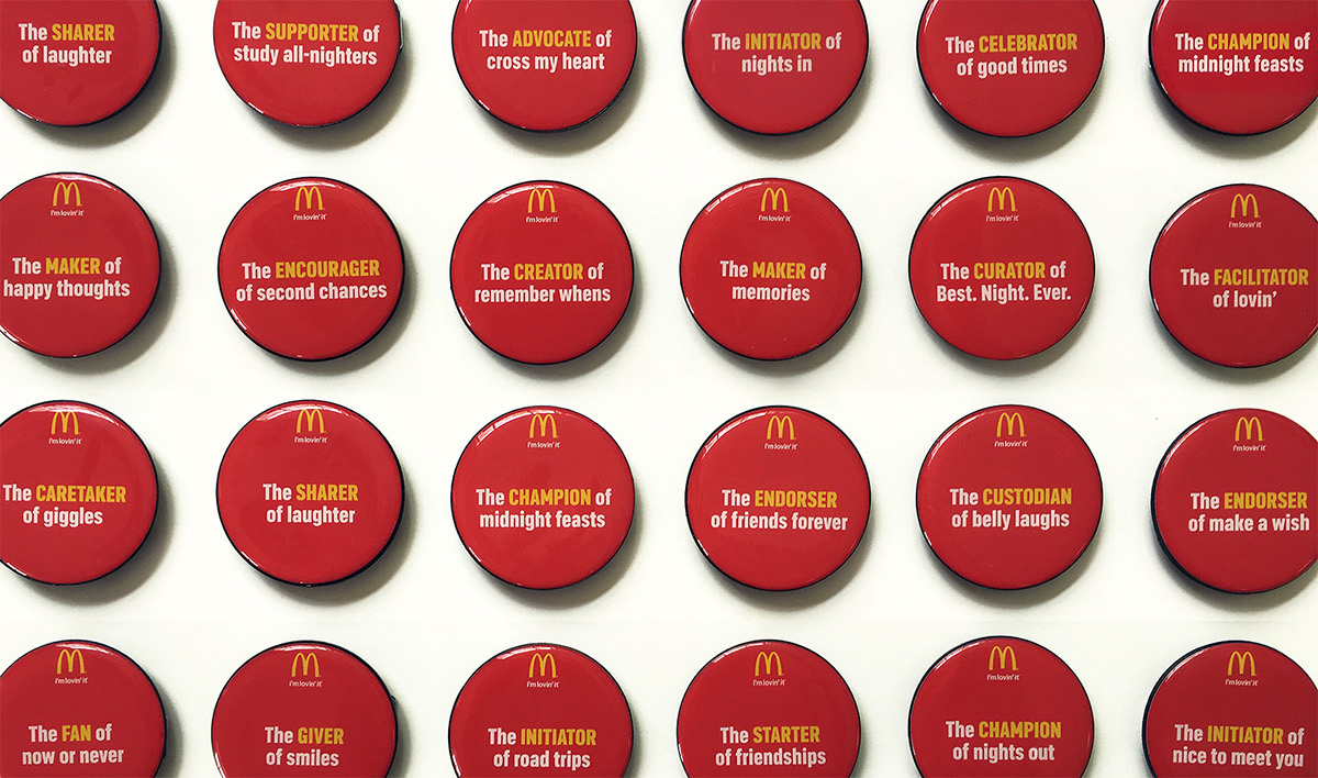 mcdonald s little moments of lovin on behance descriptions of what mcdonald s employees really do for their customers