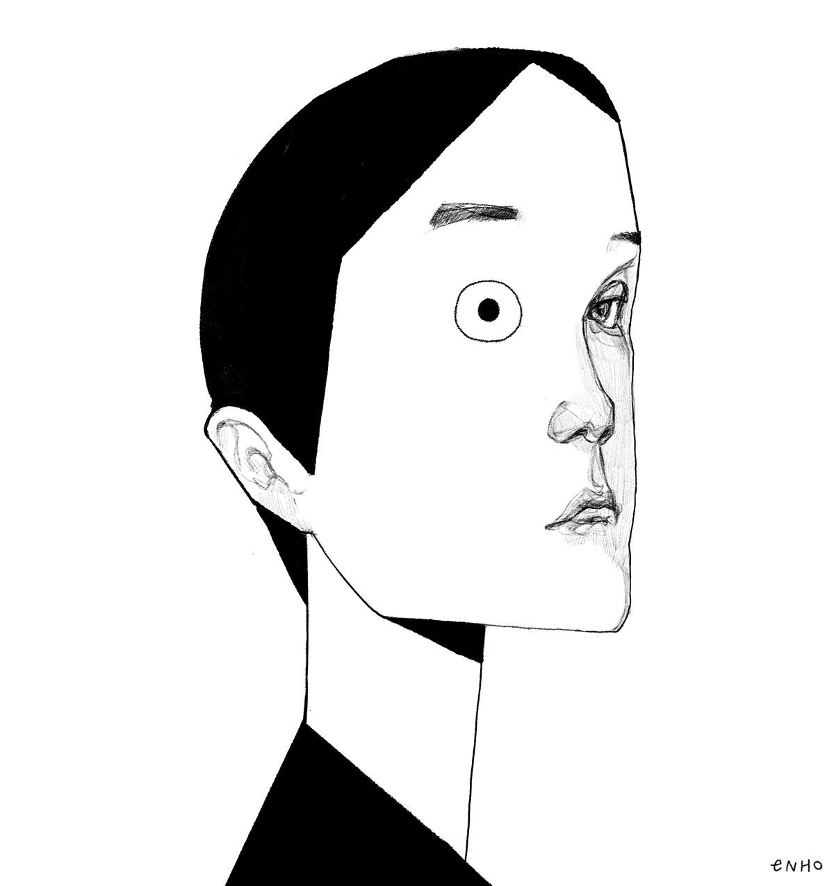 Drawing  ILLUSTRATION  portrait