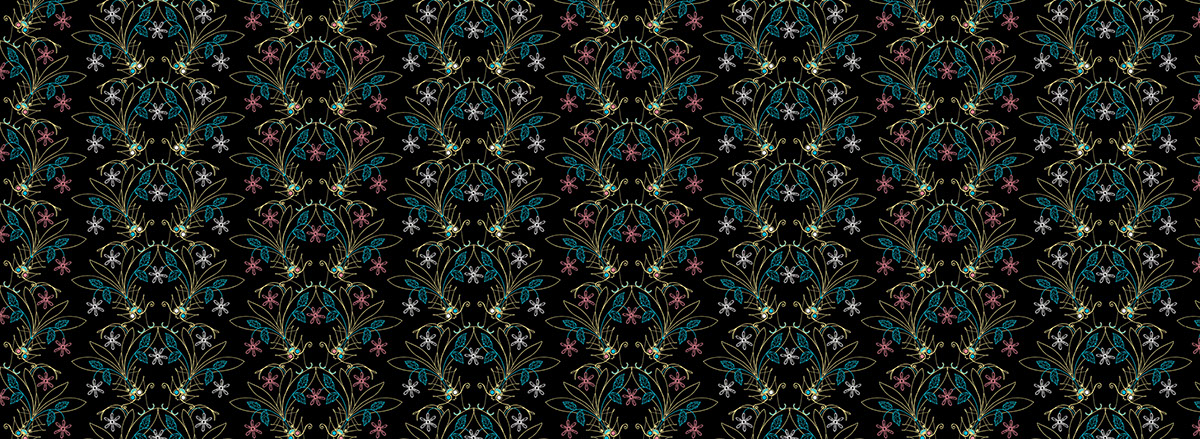 butterflies dragonflies pattern