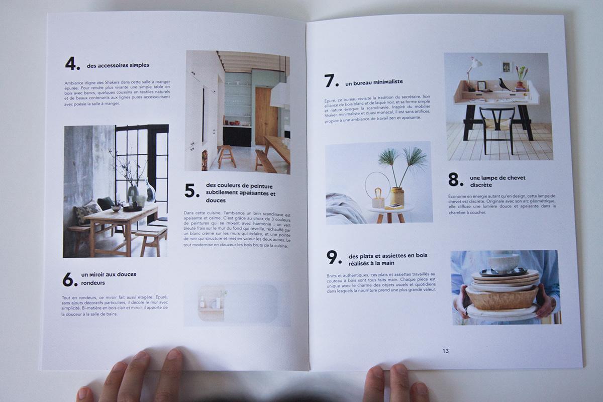 Couleur Apaisante Pour Bureau poulpe magazine ! on behance
