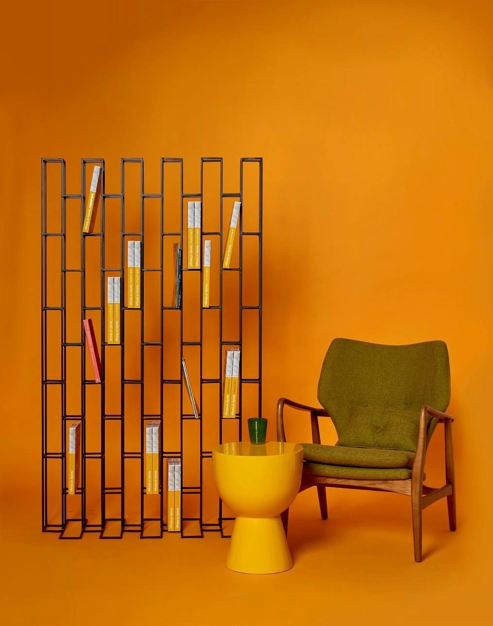 Bookcase Room Divider Bricks Standing On Behance