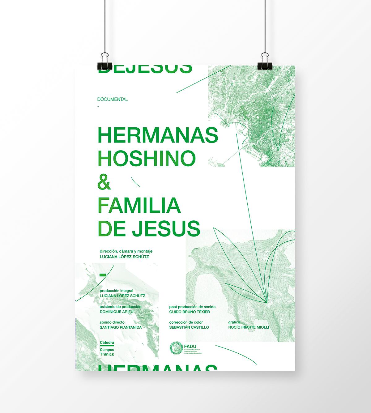 Hermanas Hoshino y Familia De Jesus — Poster on Student Show