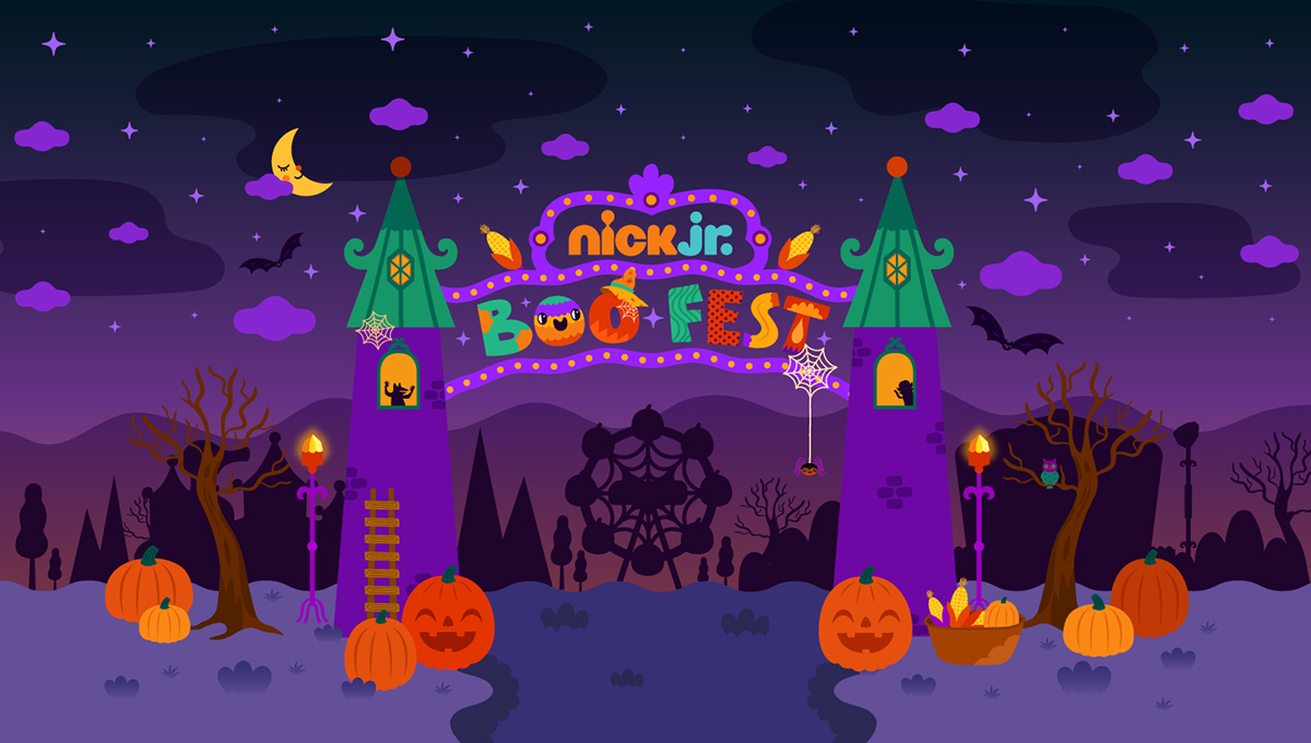 2c0c641a7 Nick Jr. Halloween Campaign on Student Show