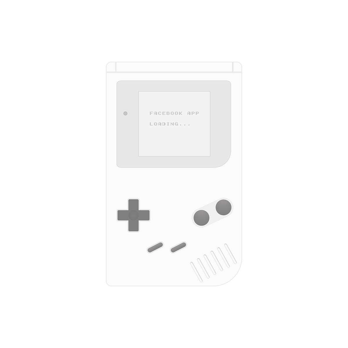 gameboy ui template on behance