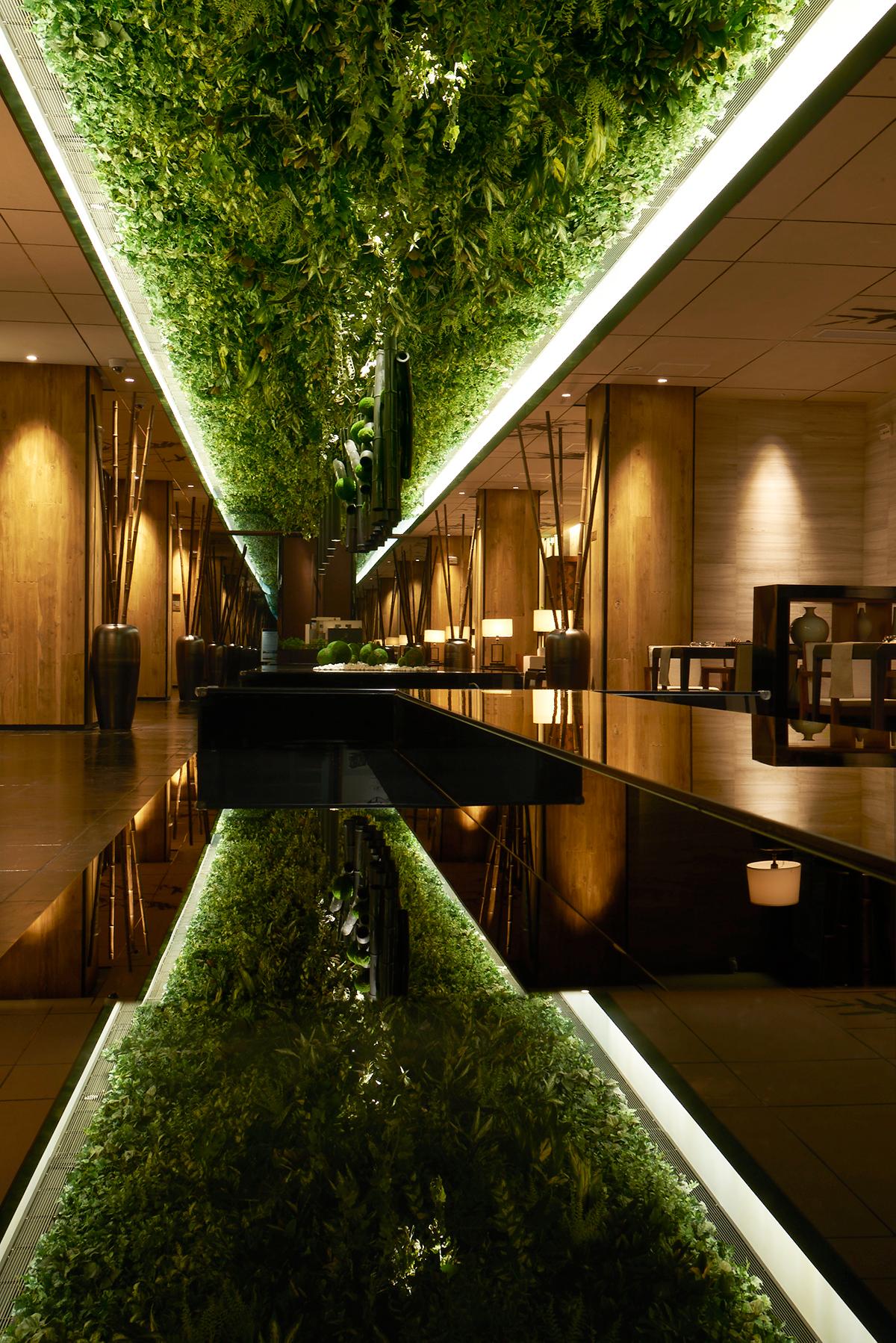 Green Belt Lounge Moonlit Garden Wuxi On Behance