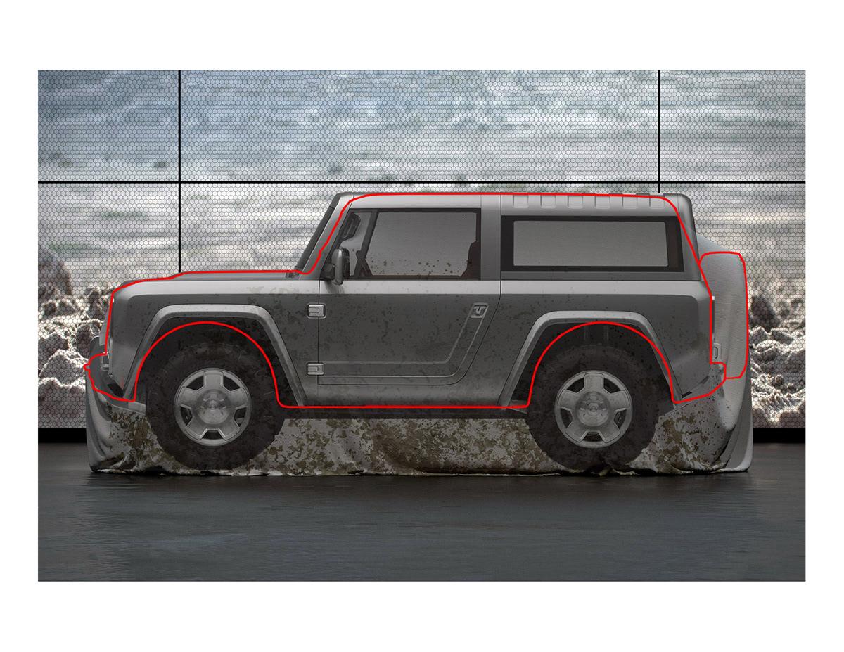 2020 Bronco Unveiled On Pantone Canvas Gallery