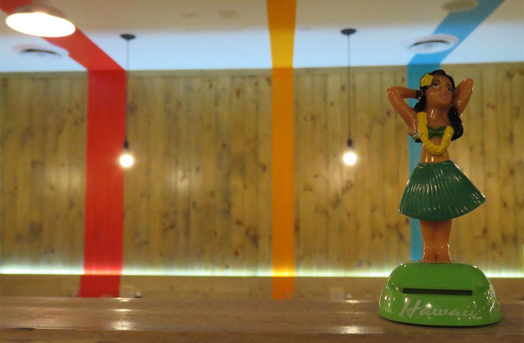 Hula Girl Bar & Grill, Hawaiian Restaurant Branding, Logo Design, Arlington, VA, DC
