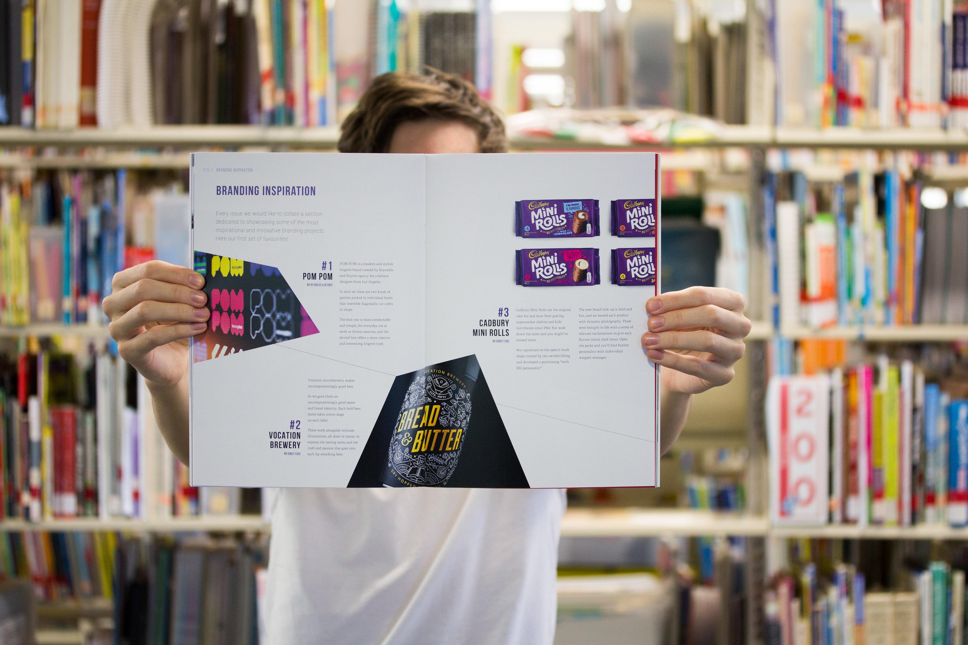 Design Meets Business Magazine Design Process on Behance