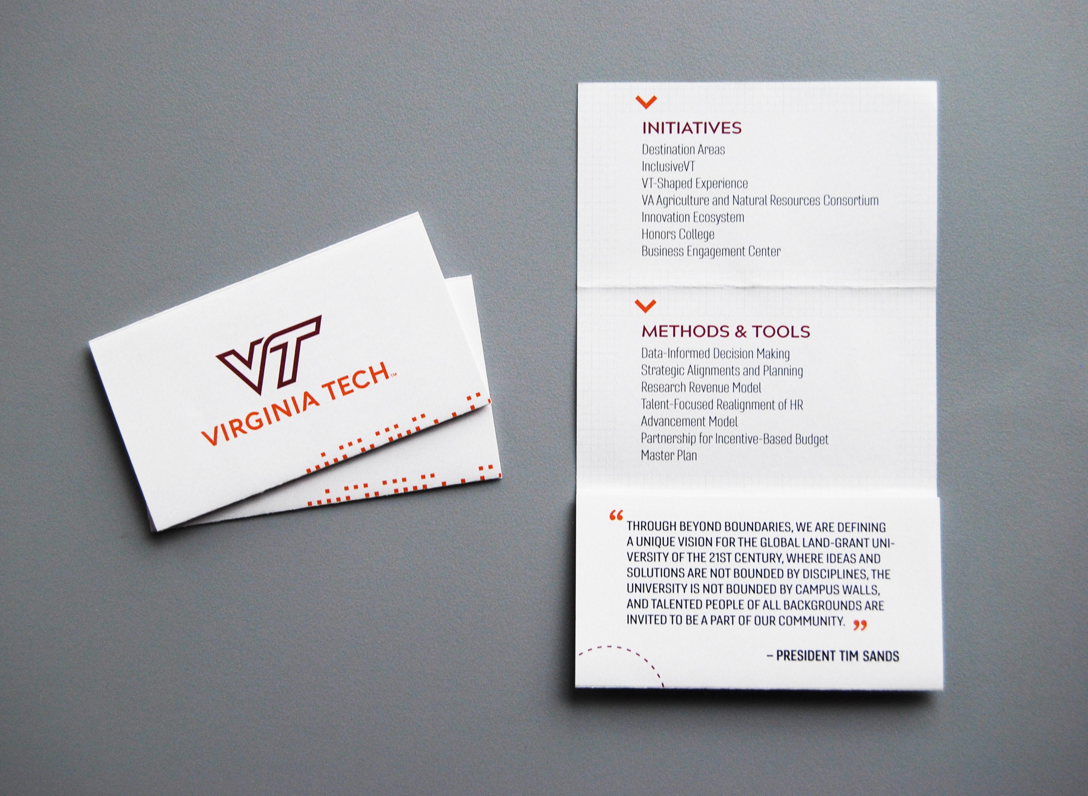 Print design virginia tech on behance colourmoves