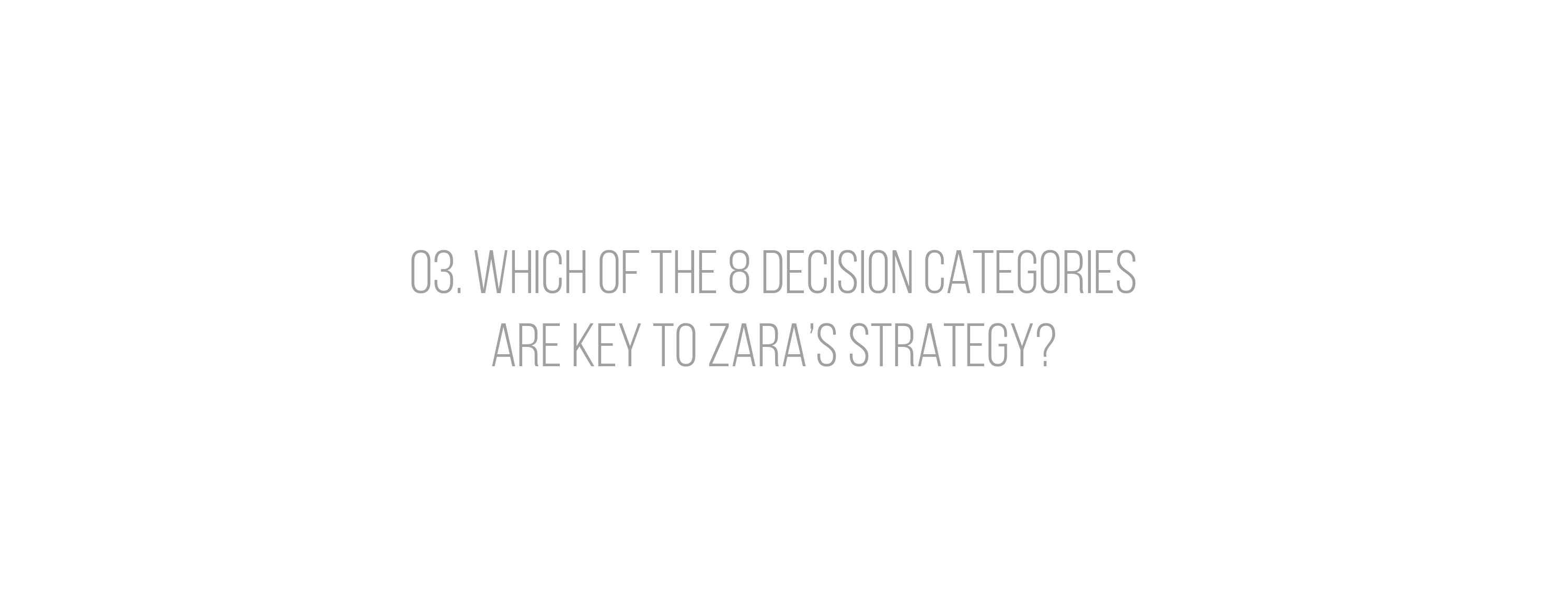 zara case study operations strategy on behance
