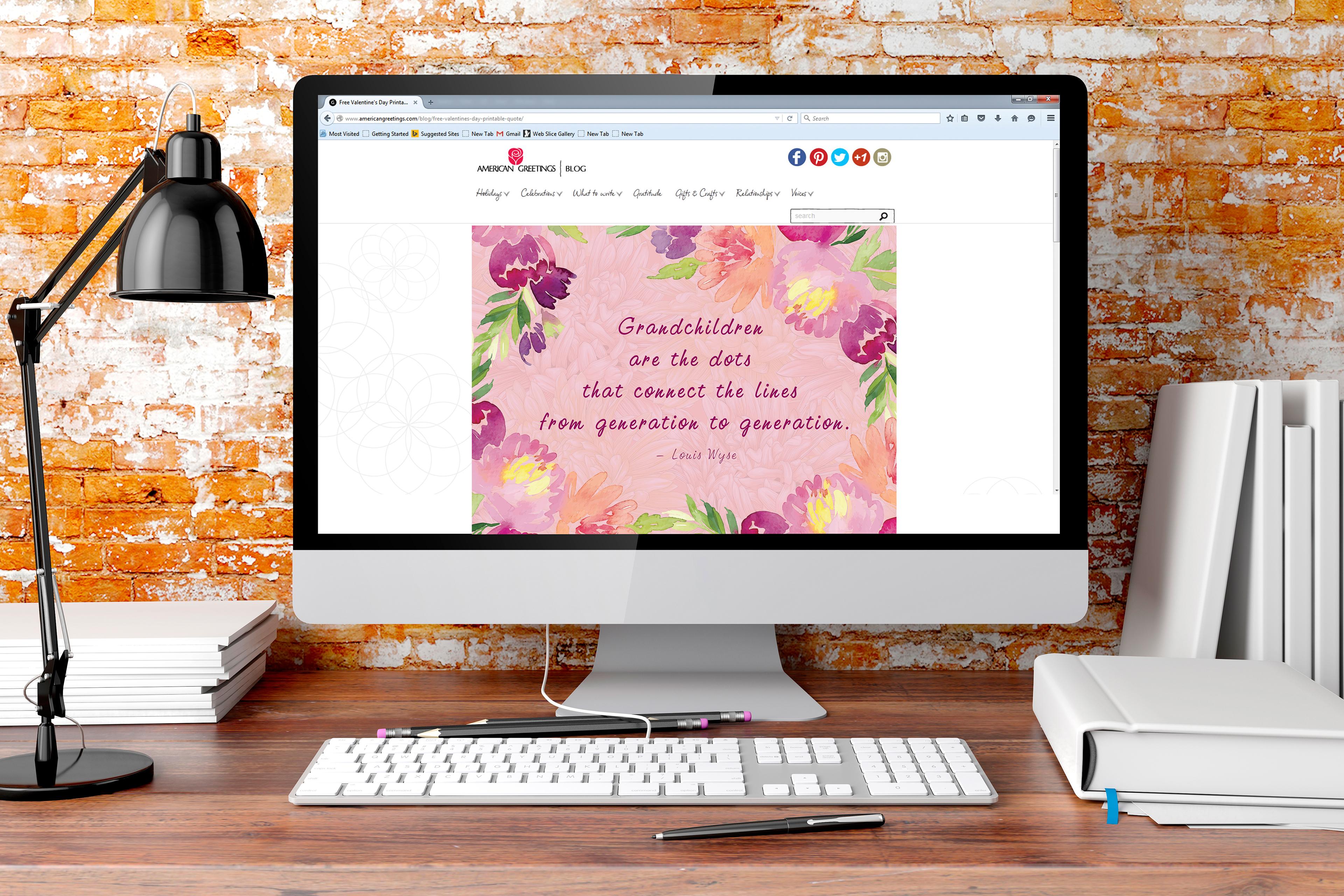 American Greetings Blog On Behance