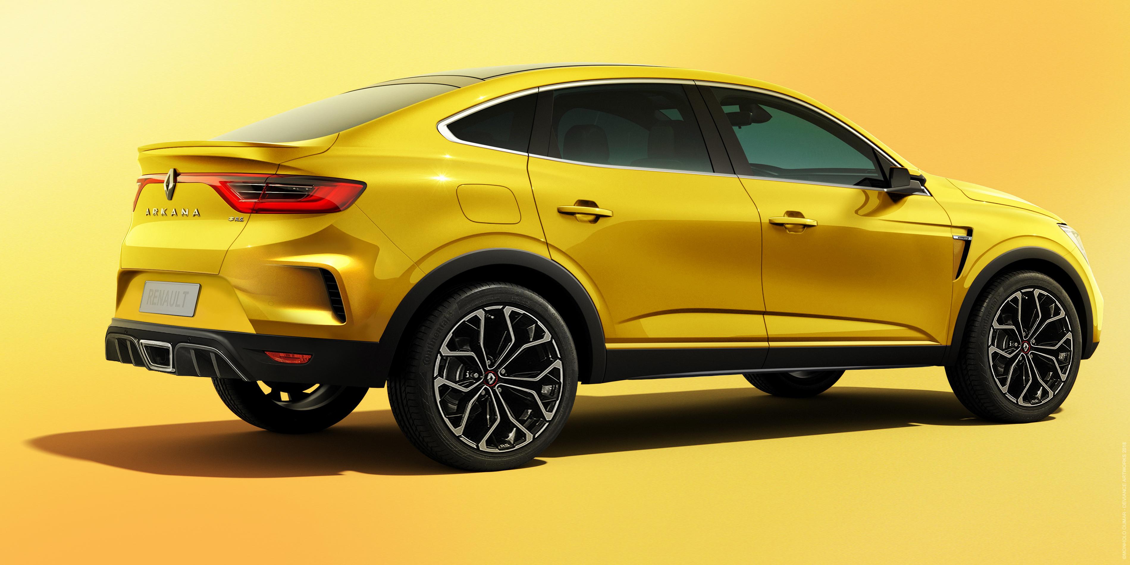 Купе-кроссовер Renault ARKANA