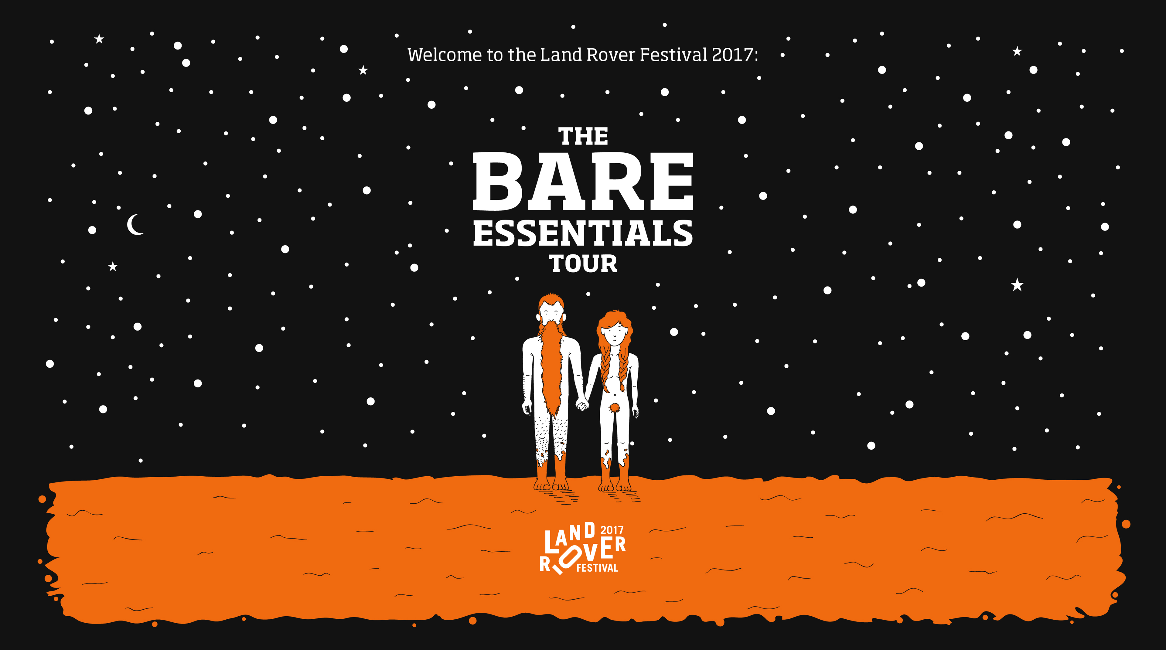 land rover festival 2017 on behance