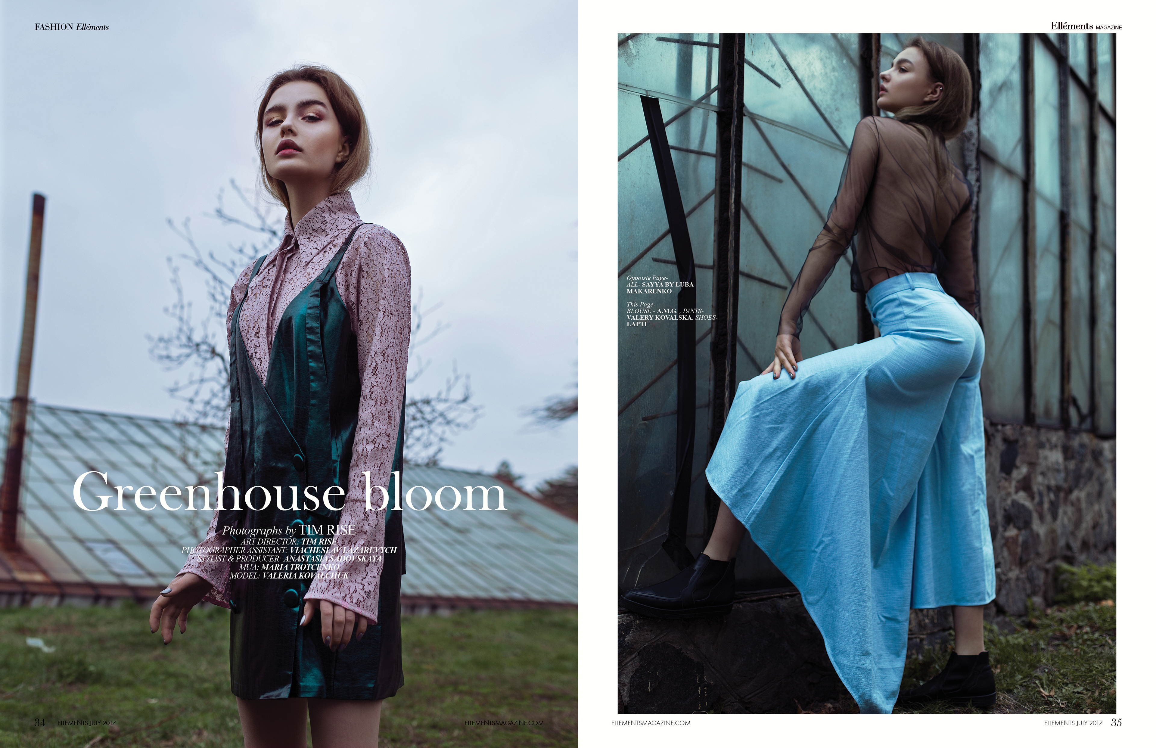Greenhouse bloom for Ellements magazine on Behance 8bc78d2a78