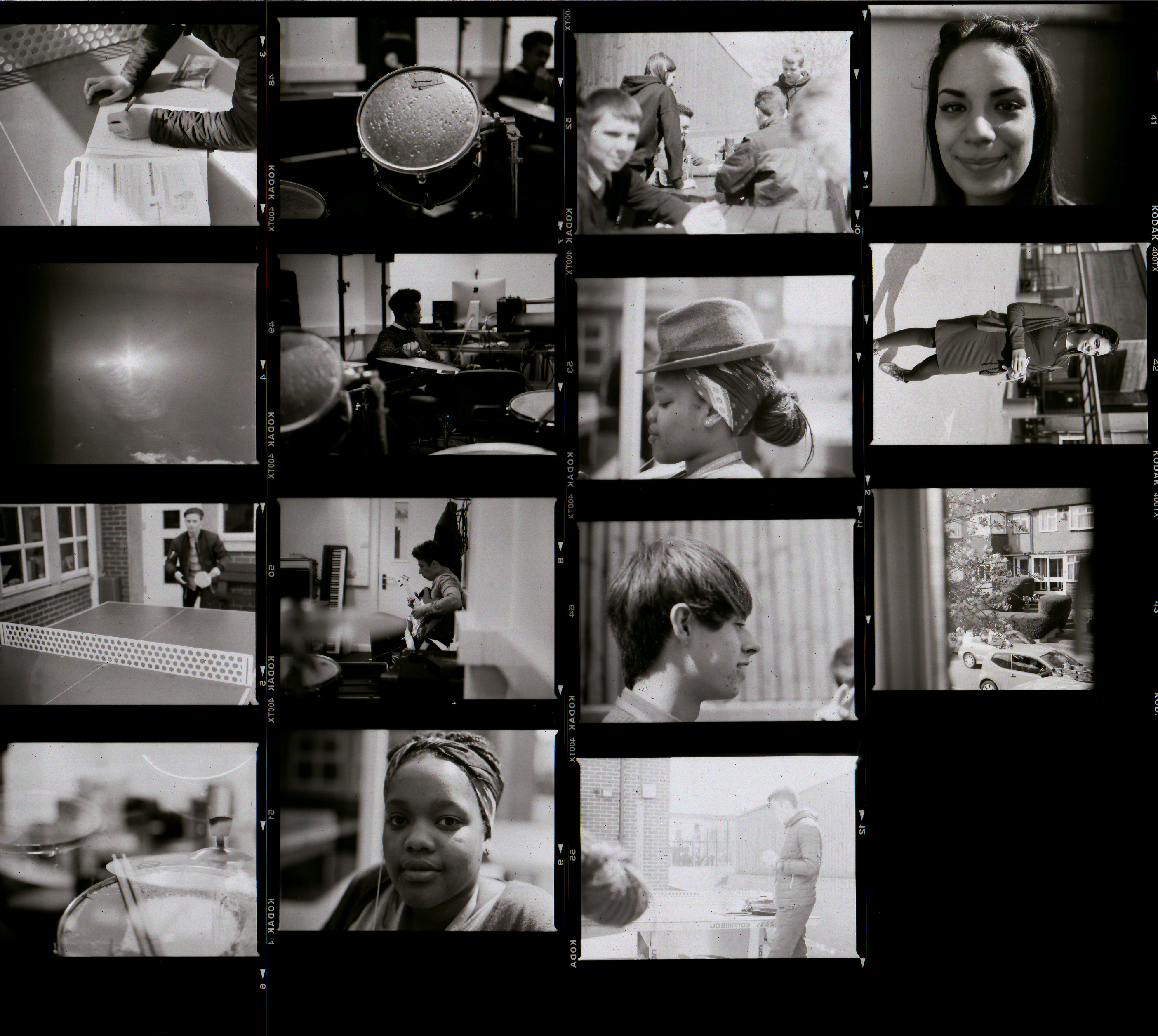 Theo Cordery - Contact Sheets