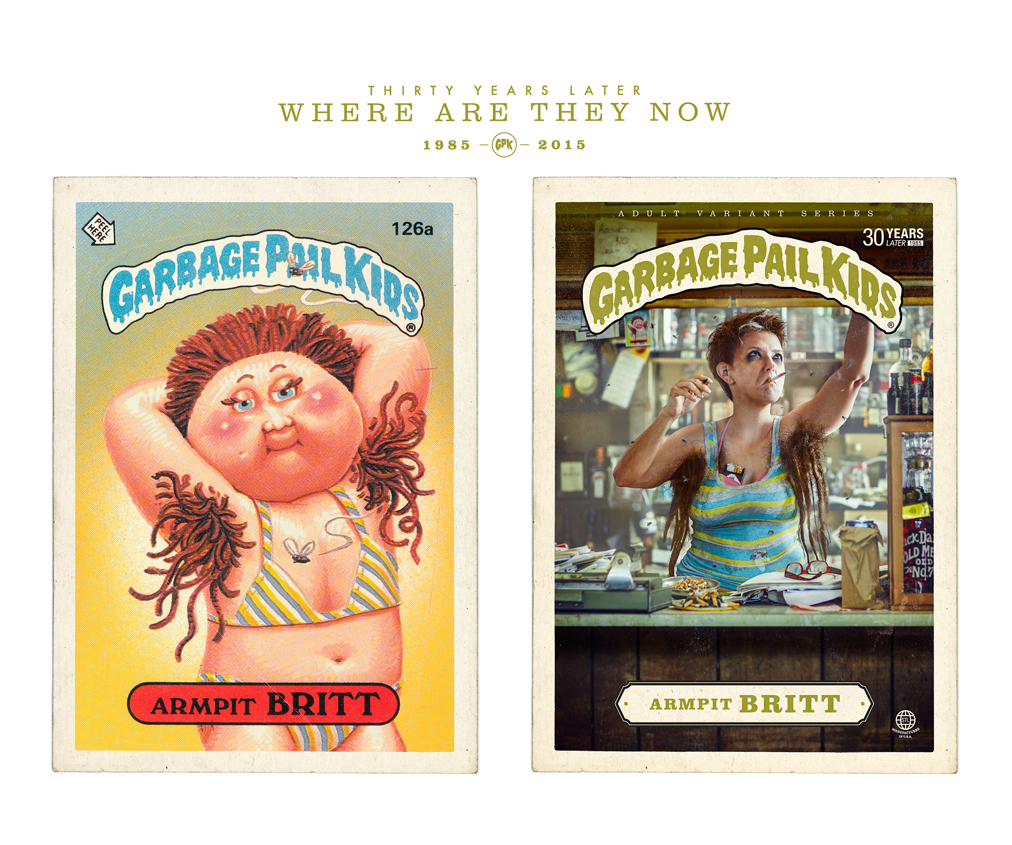 11f6303e62 Garbage Pail Kids - Where are they now  on Behance