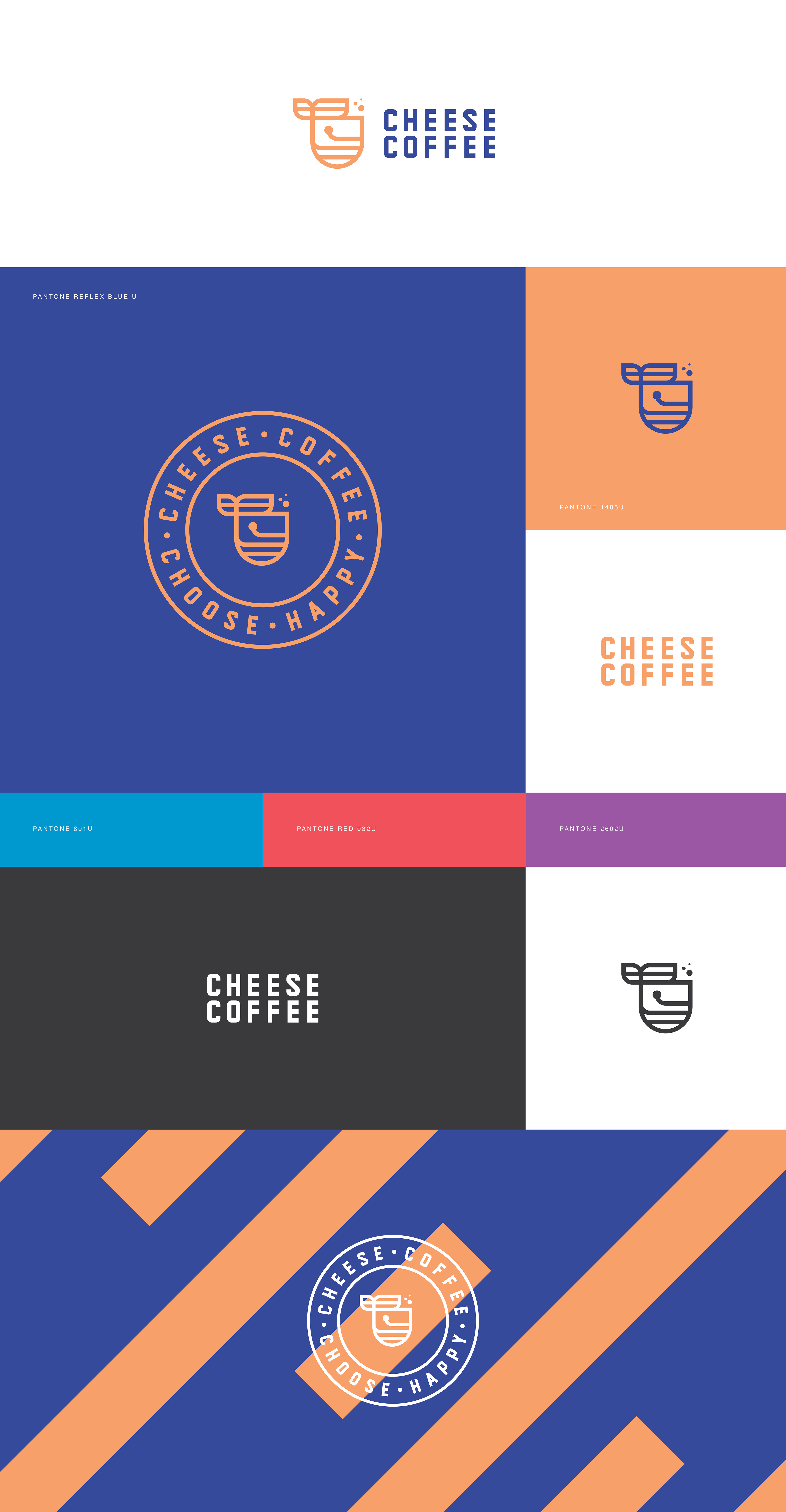 Coffee Logos Blue Red Wiring Diagrams 1187 Remington Diagram Http Wwwar15com Archive Topichtmlb6f49 Cheese On Behance Rh Net Design Bean Logo