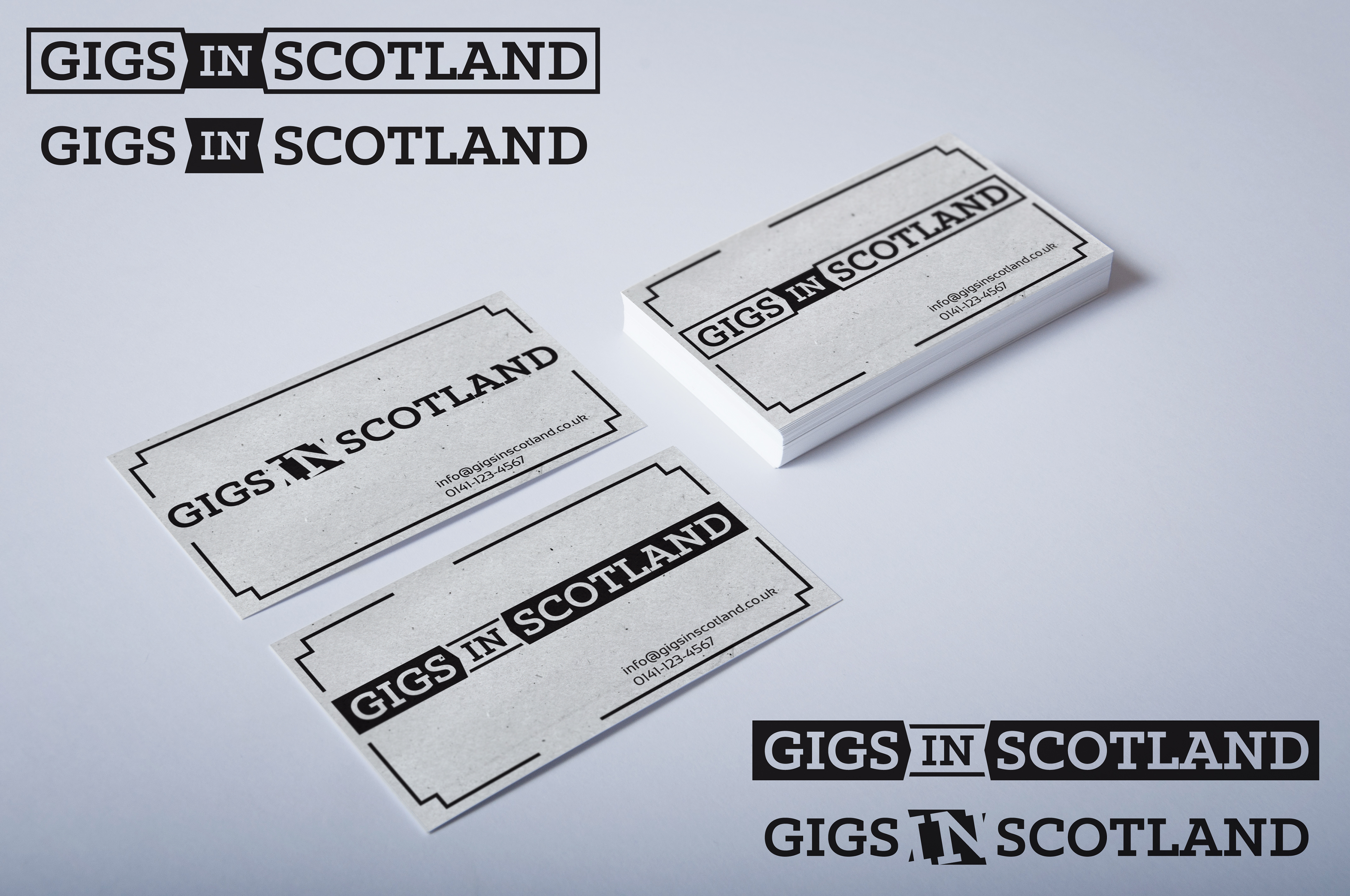 Another leaf creative graphic design gigs in scotland business for gigs in scotland a gig listing and ticket buying website covering events across scotland i created three versions with subtle variations reheart Choice Image