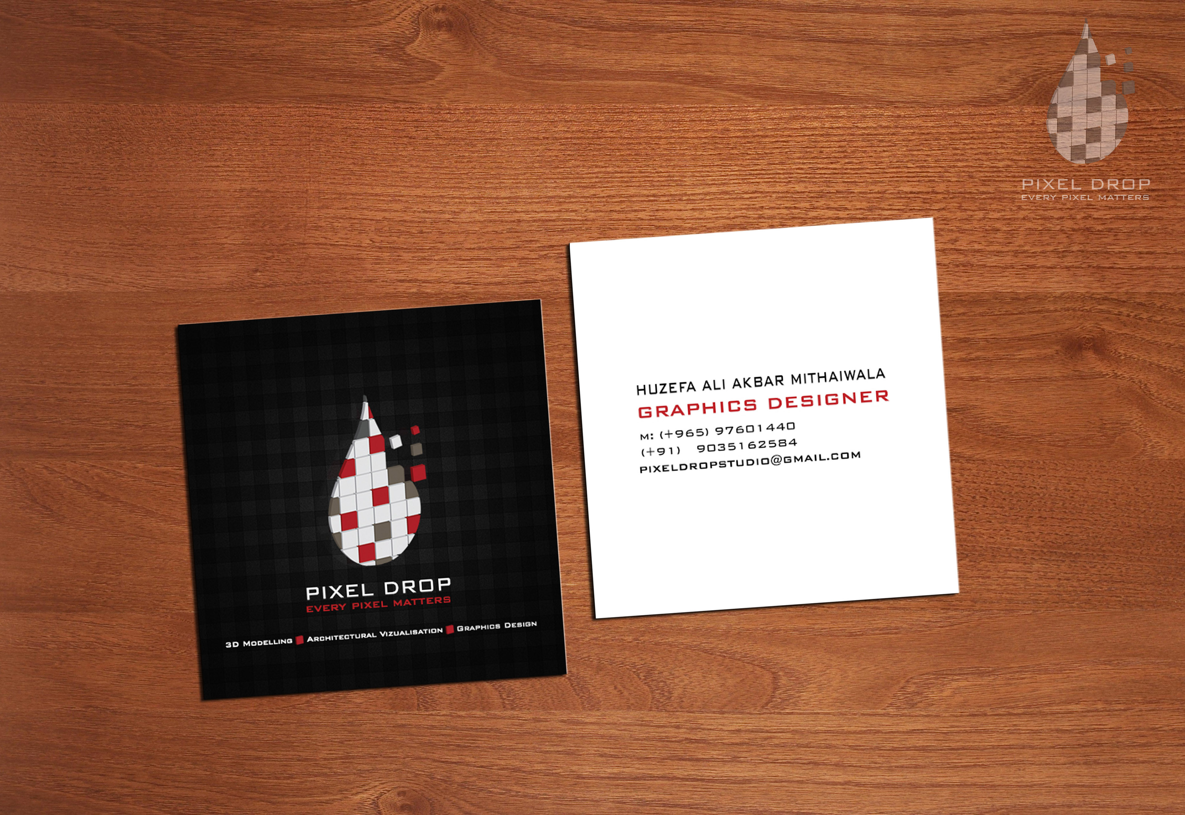 Pixel drop kuwait final in use business card magicingreecefo Image collections