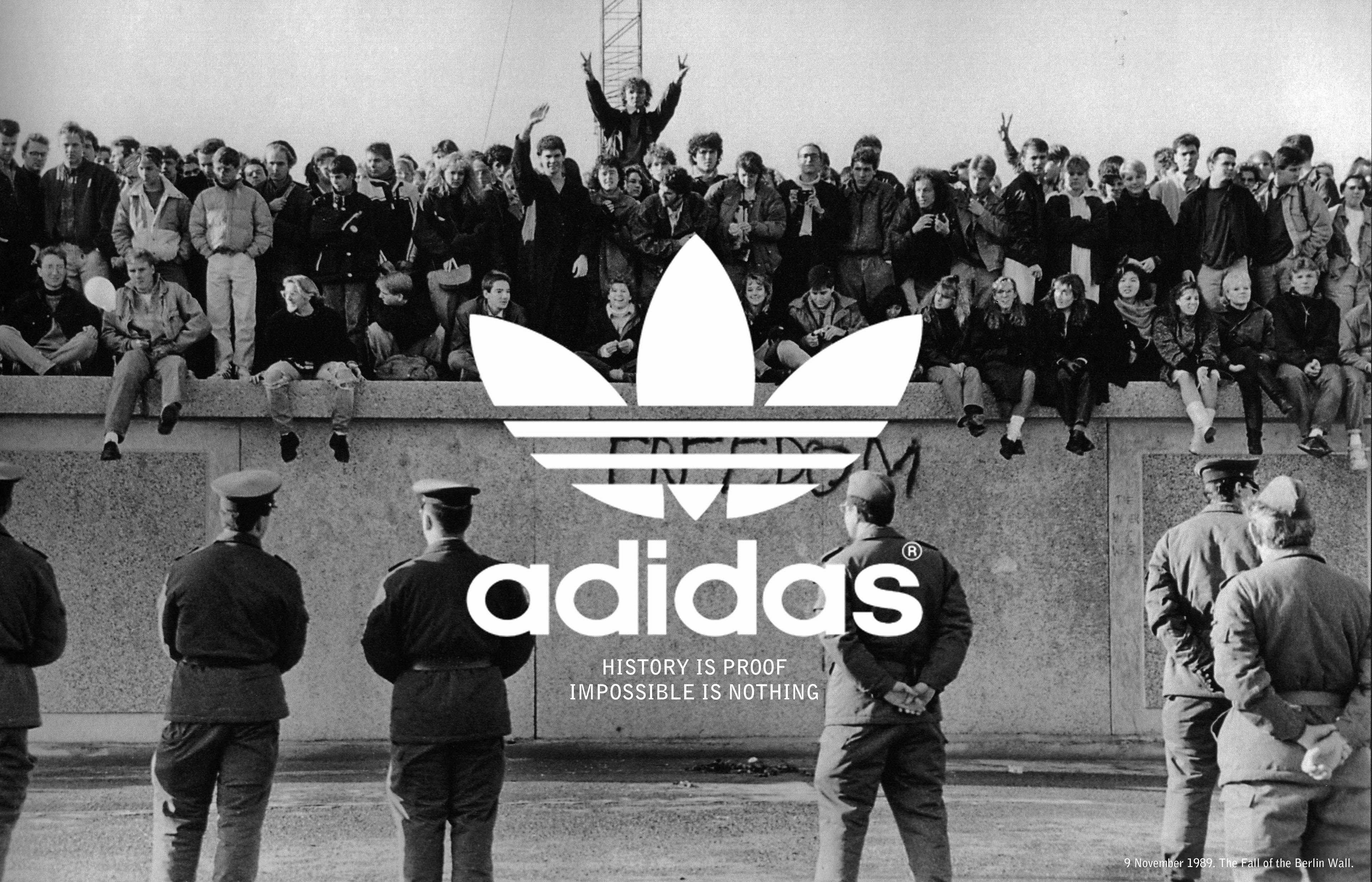 adidas history The creation of adidas originals launched a brand that became ingrained in both style and pop culture history, forever affecting the way we look at footwear adidas is constantly revamping the originals experience while playing on elements of their own history, creating clothing and shoes that raise the style bar in new and unexpected ways.