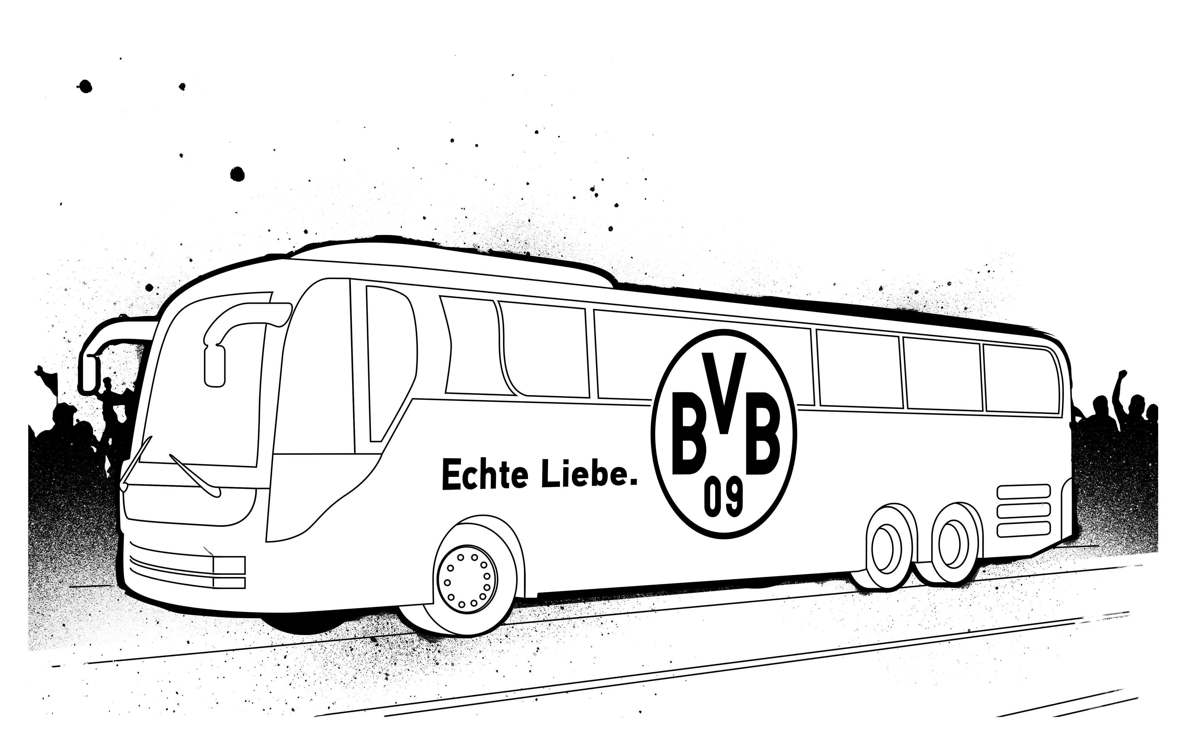BVB Malbuch on Behance