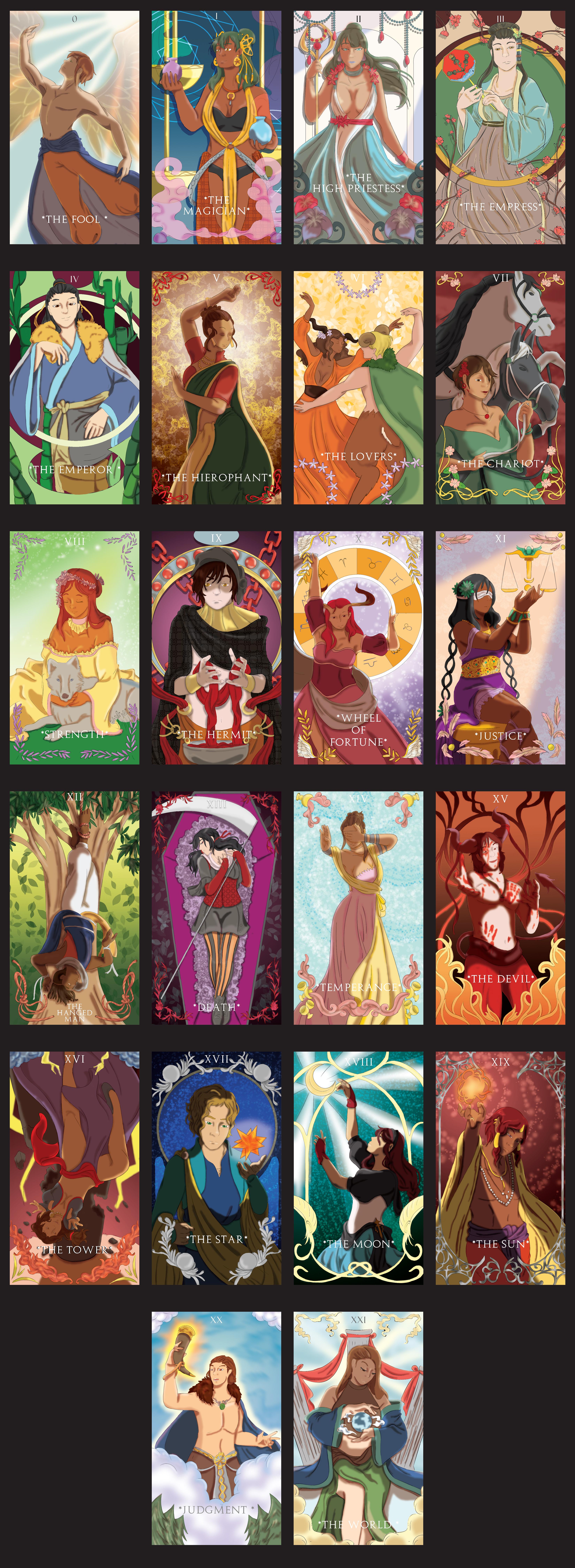 Tarot Cards: Major Arcana on Behance