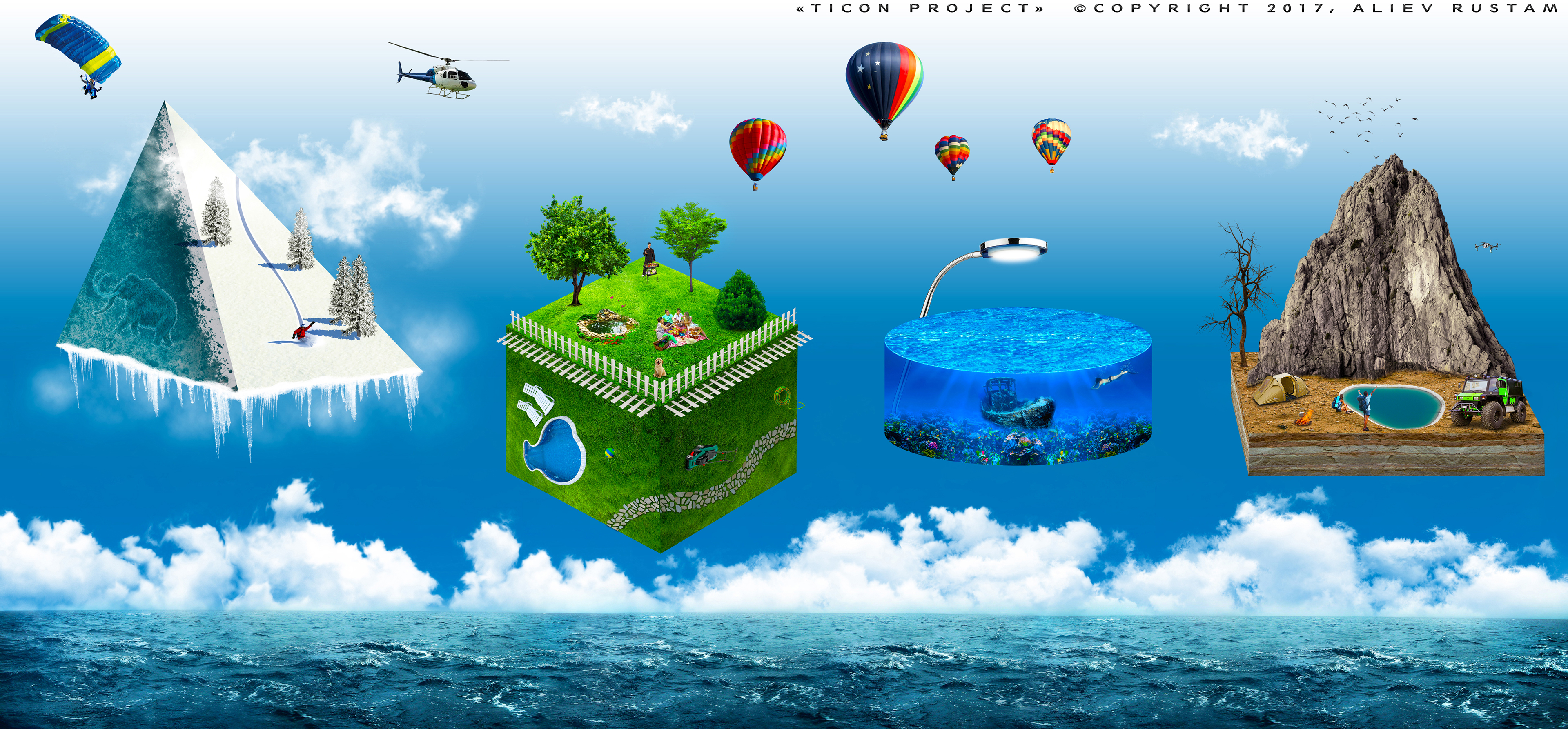 Creative Banner Advertising Travel Agency On Behance