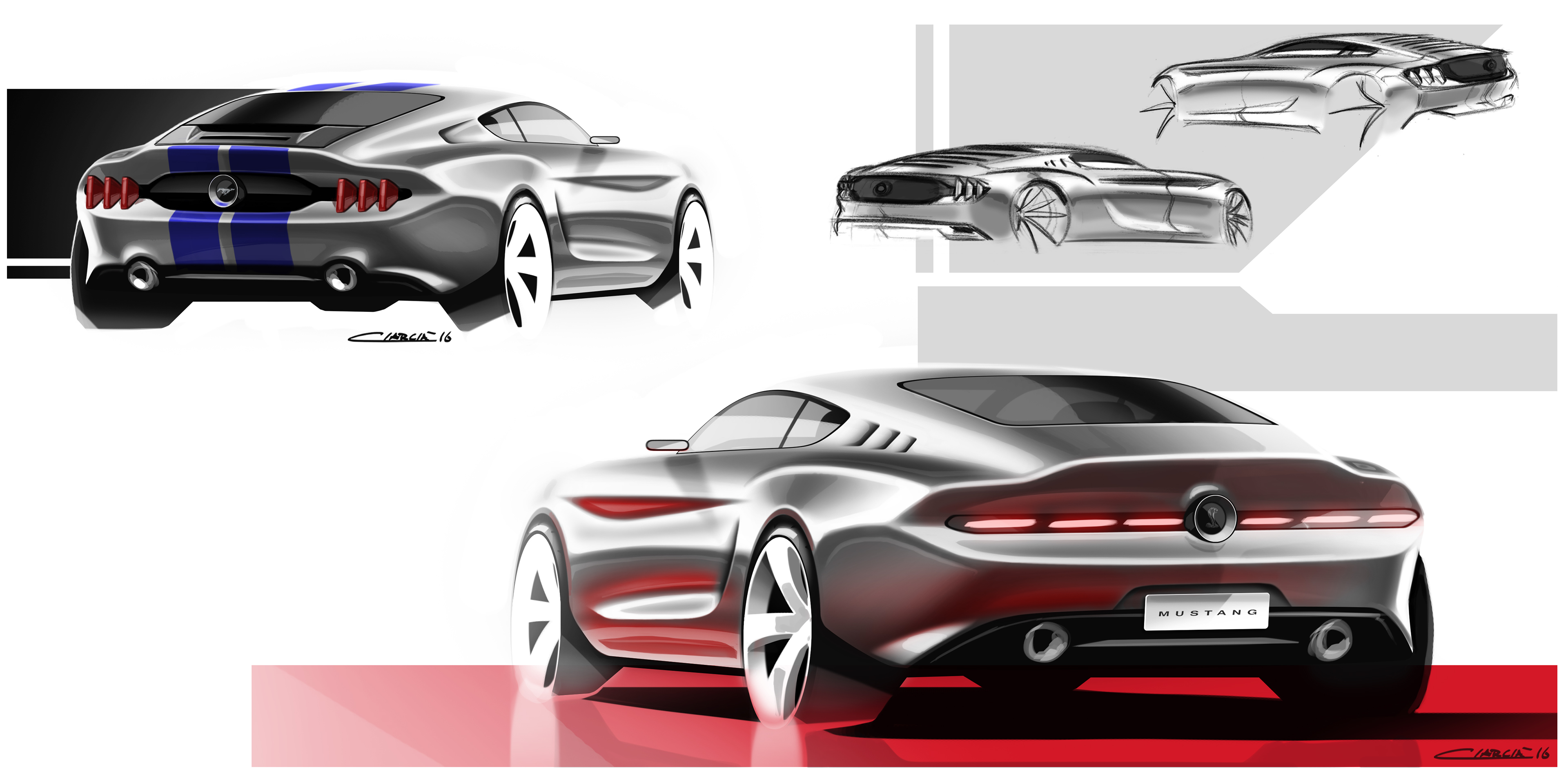 Muscle Cars Pt 1 On Behance