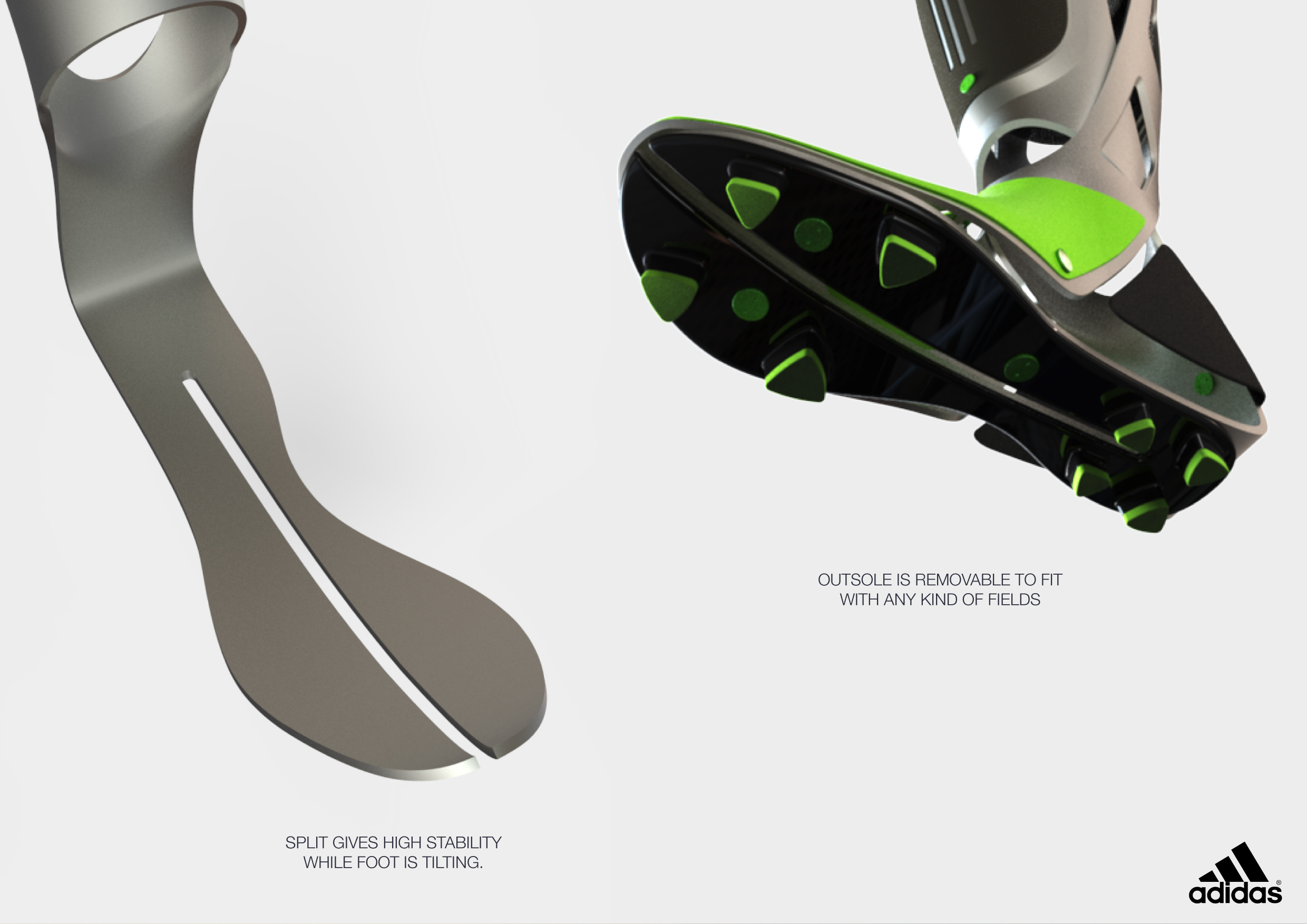 f2aada41f0ef5a ADIDAS IMPETUS - Soccer Prosthetic on Behance