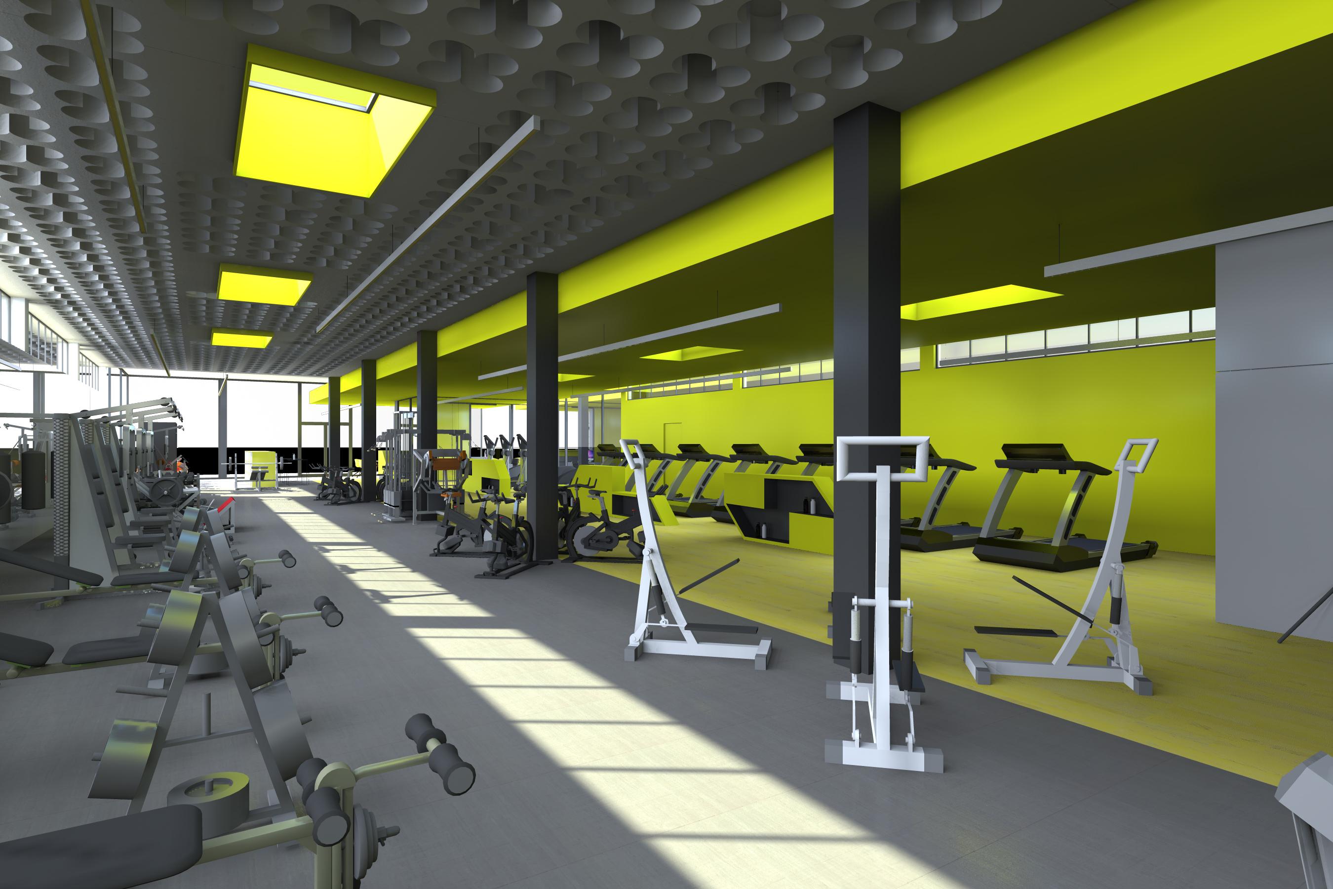 100 Remarquable Concepts Superficie Salle De Sport