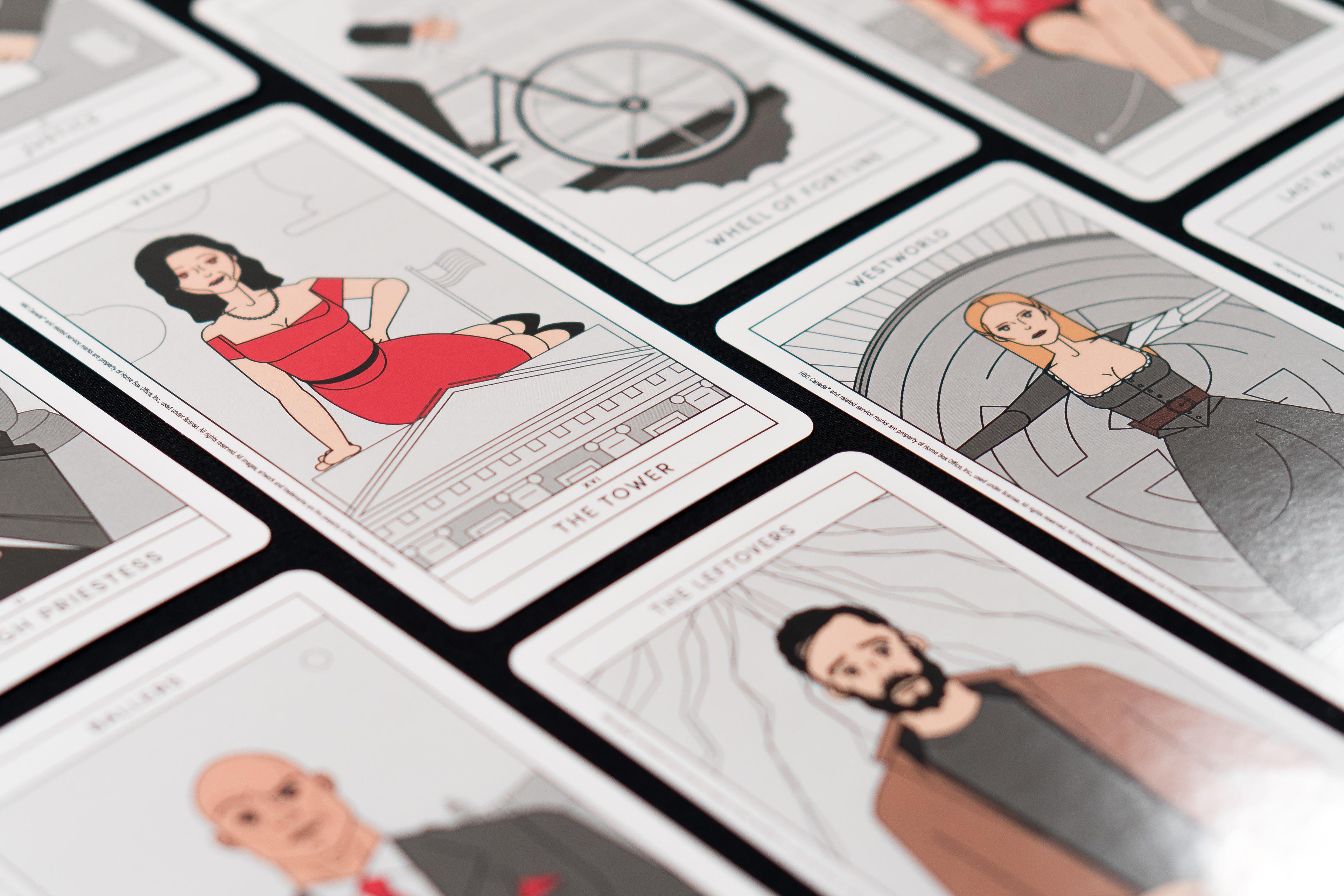 HBO Canada – Major Arcana Tarot Cards on Behance
