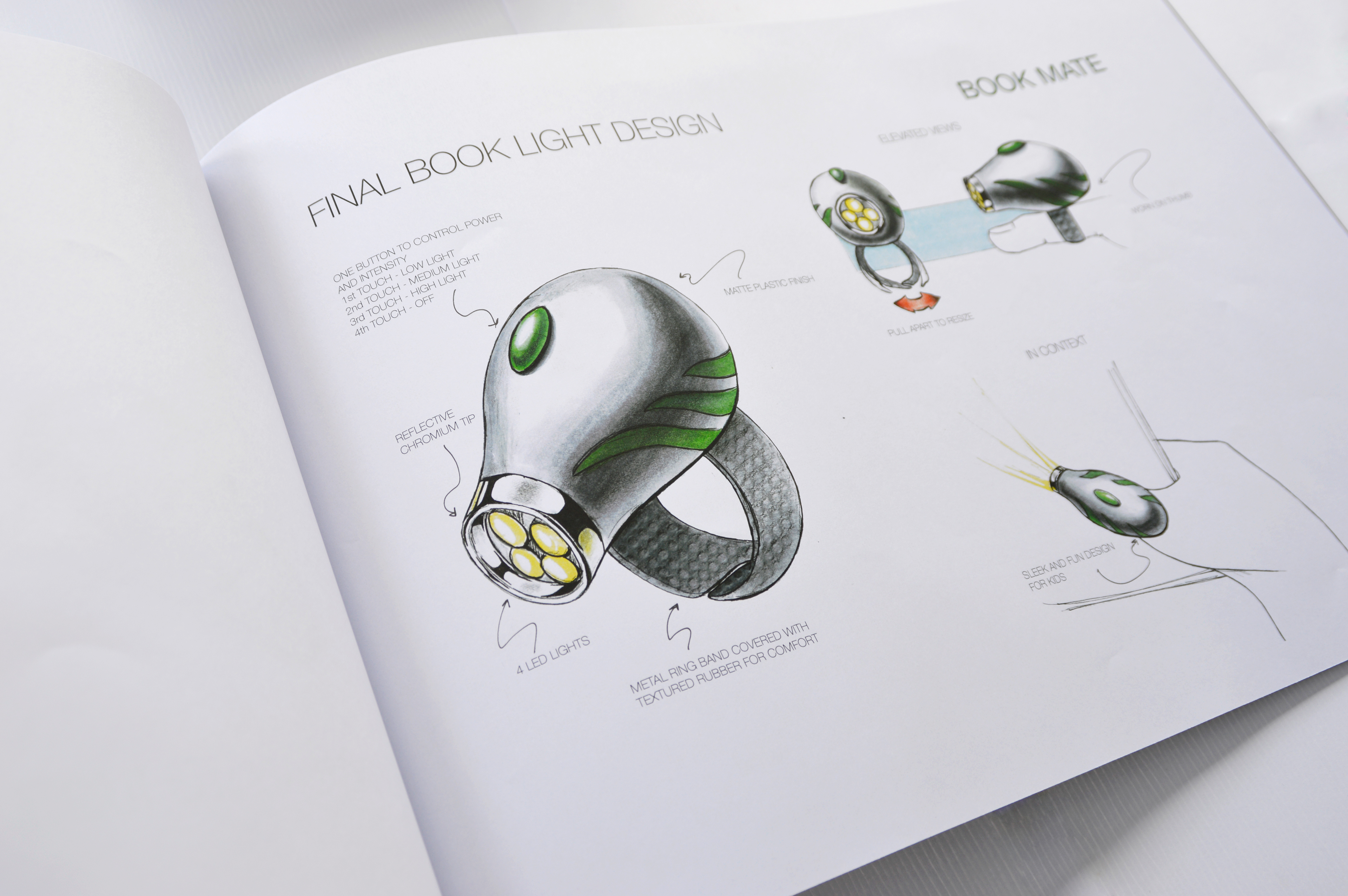 booklight design biomimicry on behance